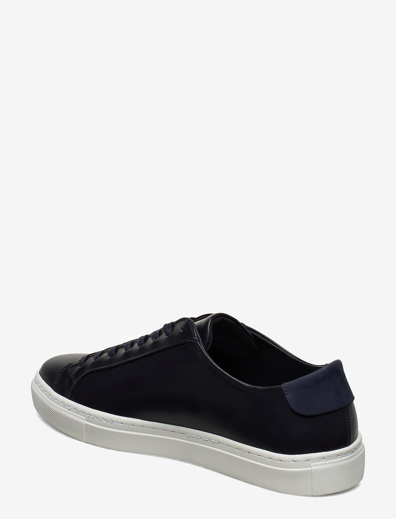 Filippa K - M. Morgan Low Mix Sneaker - låga sneakers - navy - 2