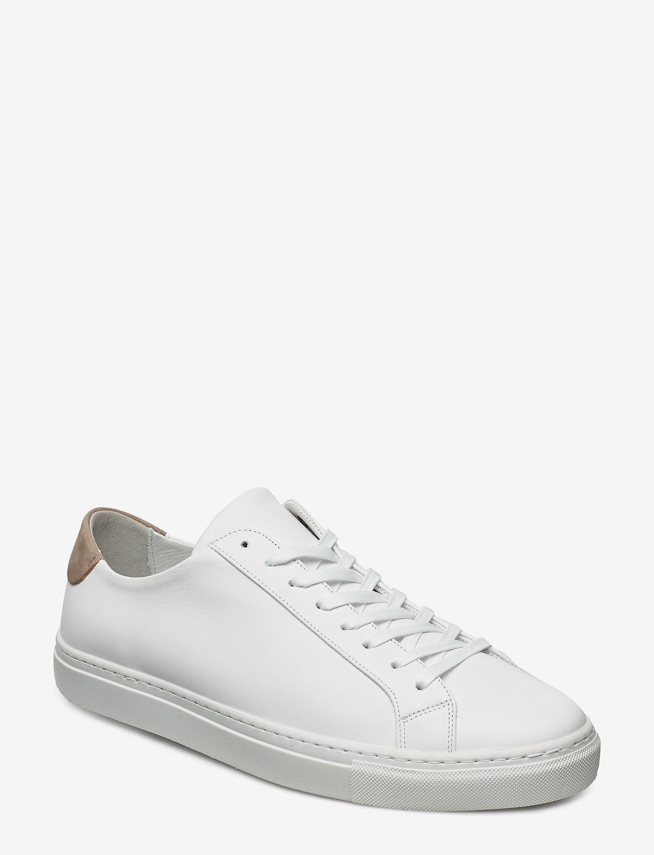 Filippa K - M. Morgan Low Mix Sneaker - låga sneakers - white - 1
