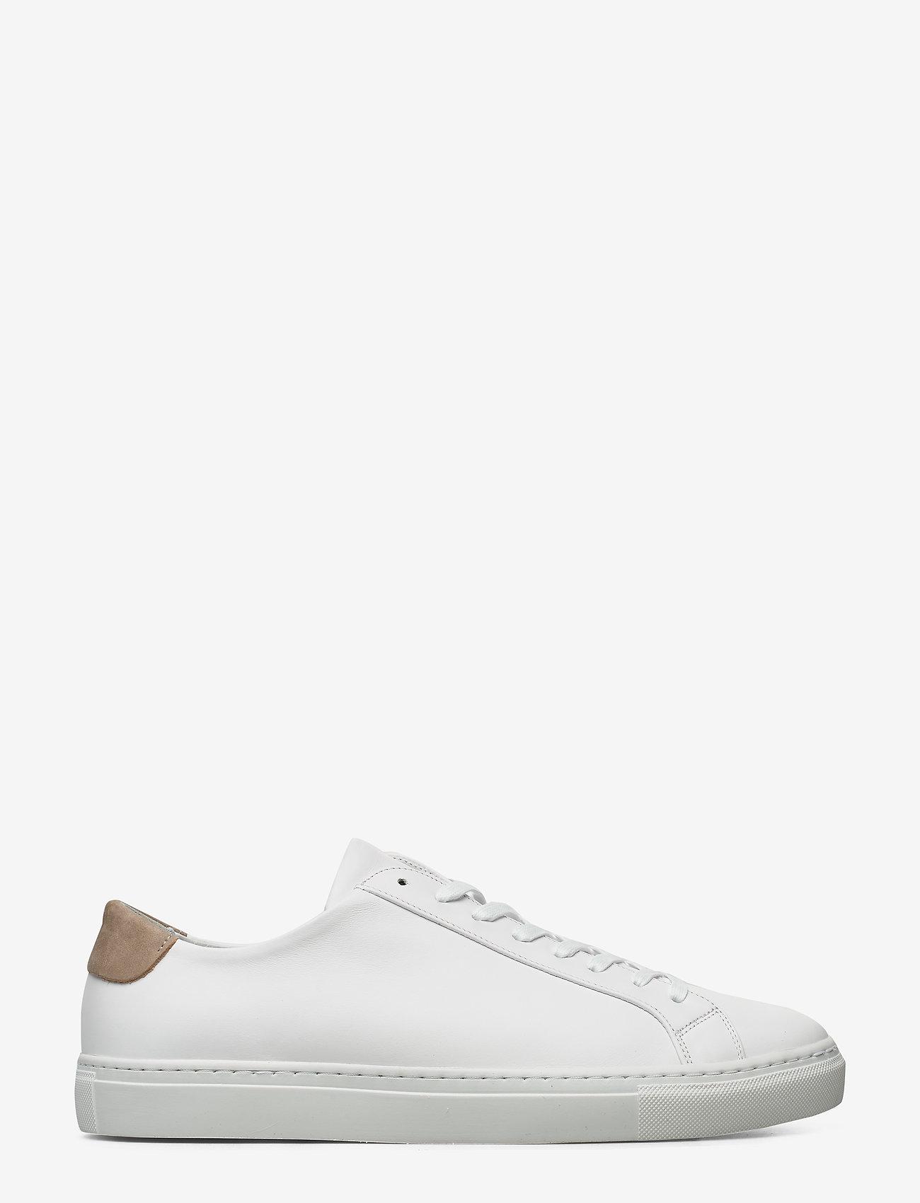 Filippa K - M. Morgan Low Mix Sneaker - låga sneakers - white - 0