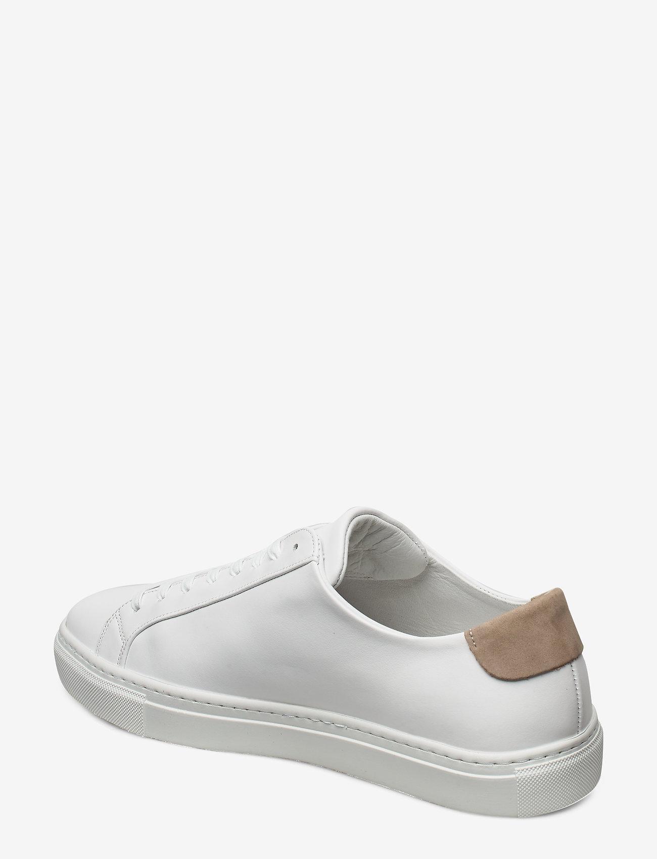 Filippa K - M. Morgan Low Mix Sneaker - låga sneakers - white - 2