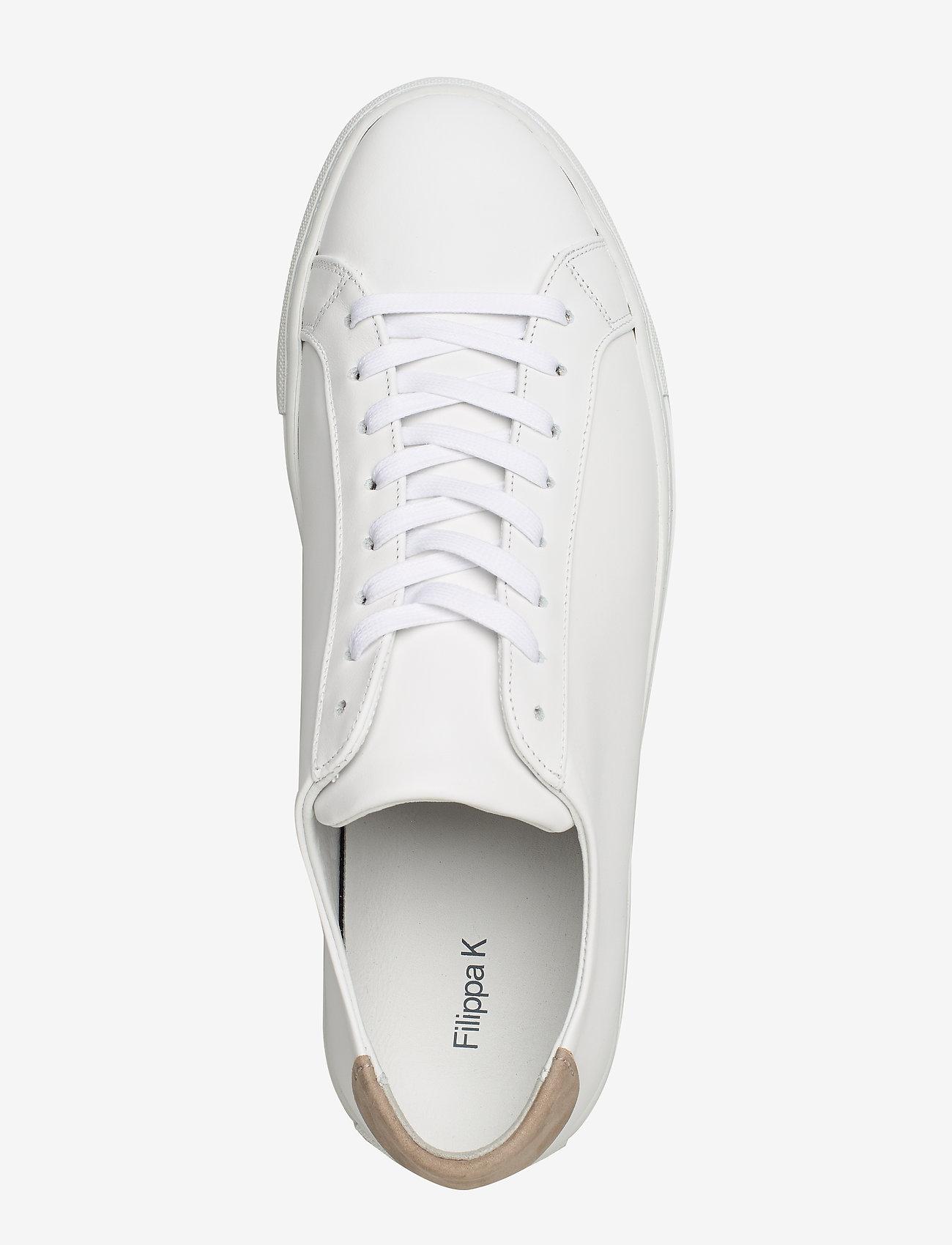 Filippa K - M. Morgan Low Mix Sneaker - låga sneakers - white - 3