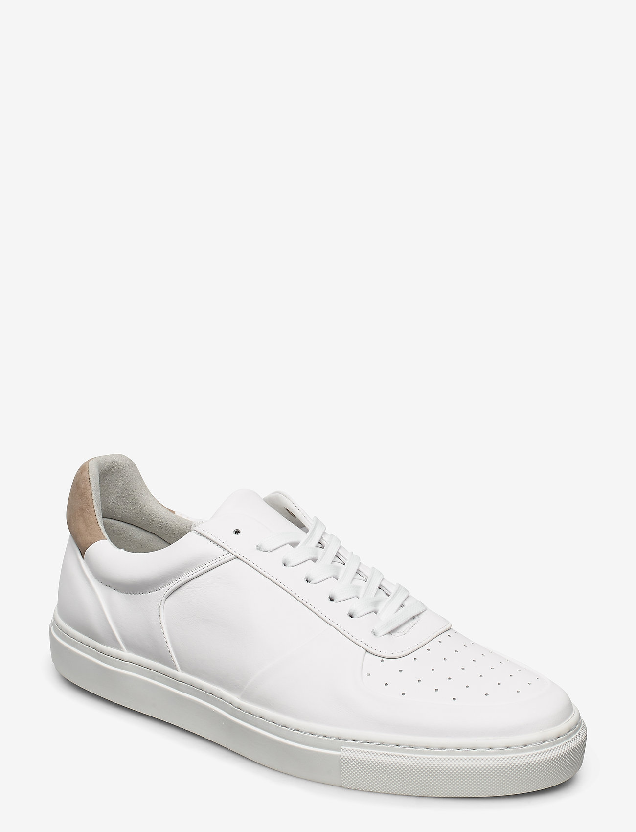 Filippa K - M. Robert Low Mix Sneaker - laag sneakers - white - 0