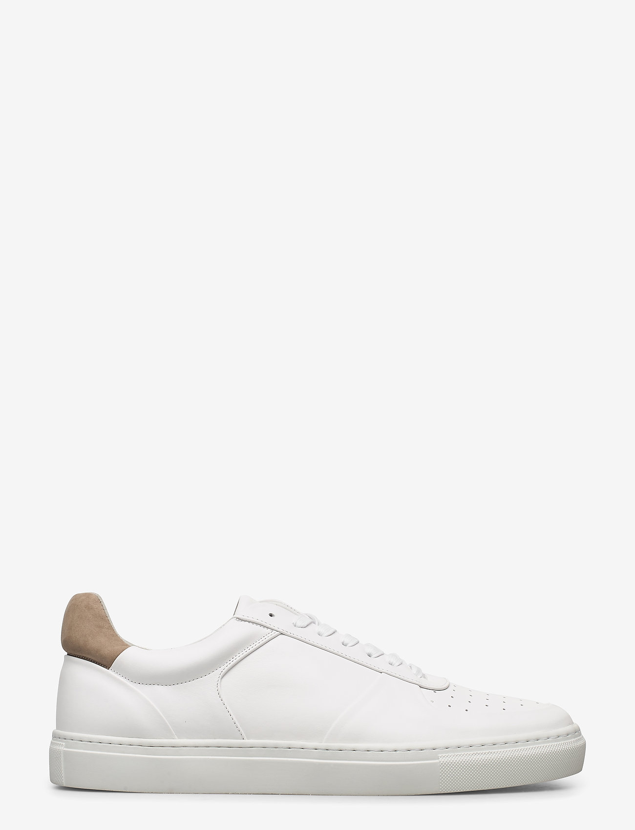 Filippa K - M. Robert Low Mix Sneaker - laag sneakers - white - 1