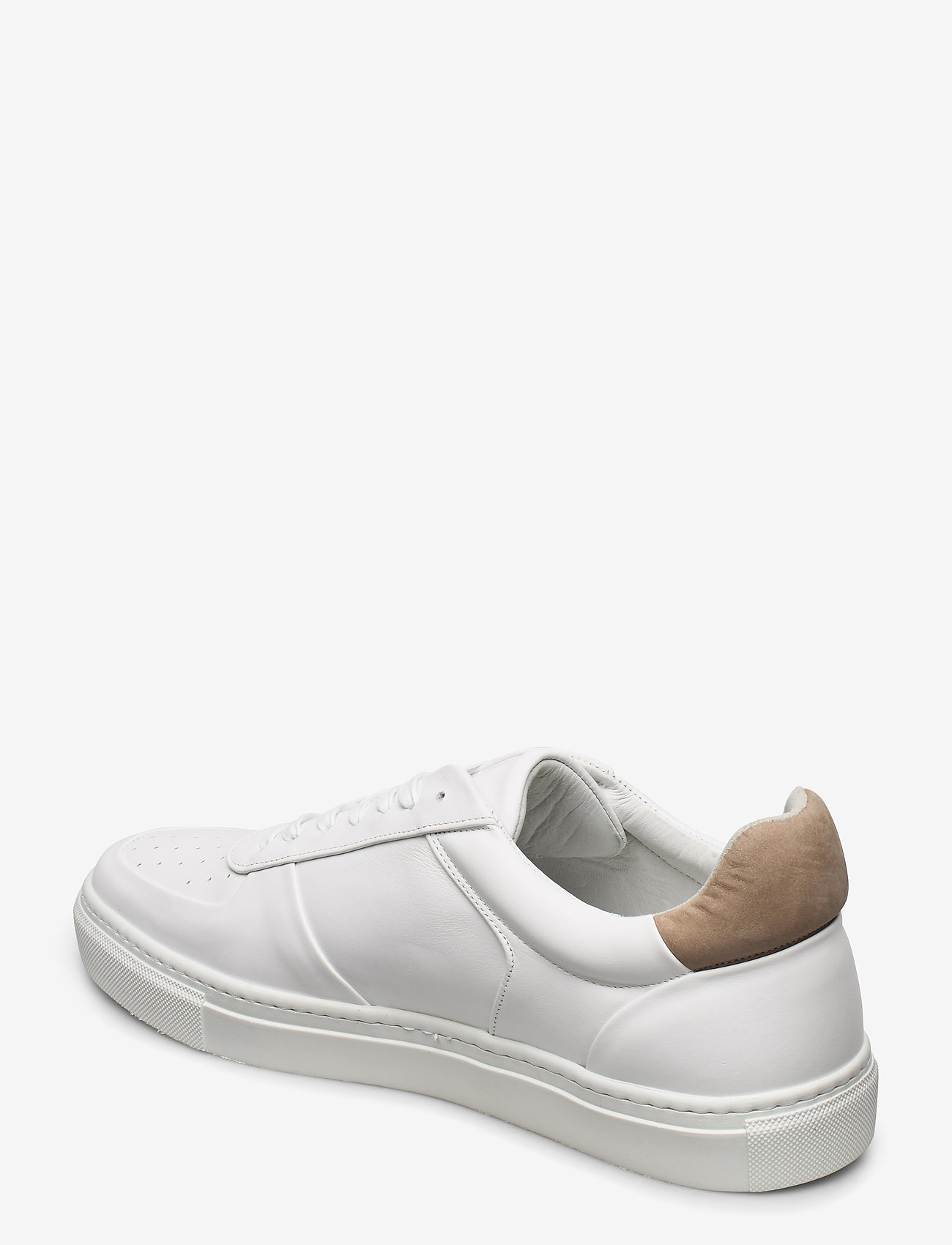 Filippa K - M. Robert Low Mix Sneaker - låga sneakers - white - 2