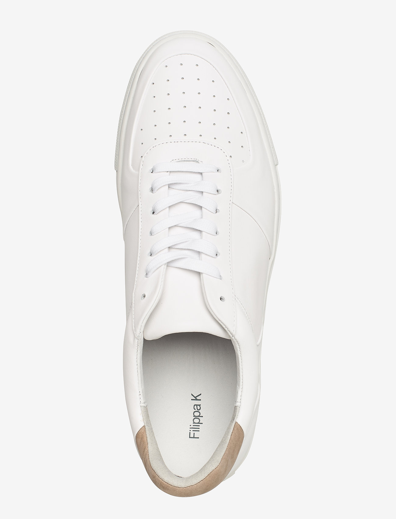 Filippa K - M. Robert Low Mix Sneaker - låga sneakers - white - 3
