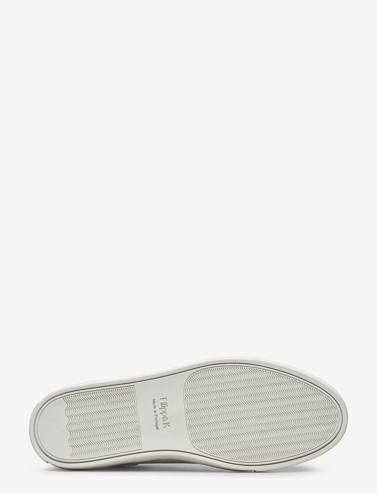 Filippa K - M. Robert Low Mix Sneaker - låga sneakers - white - 4