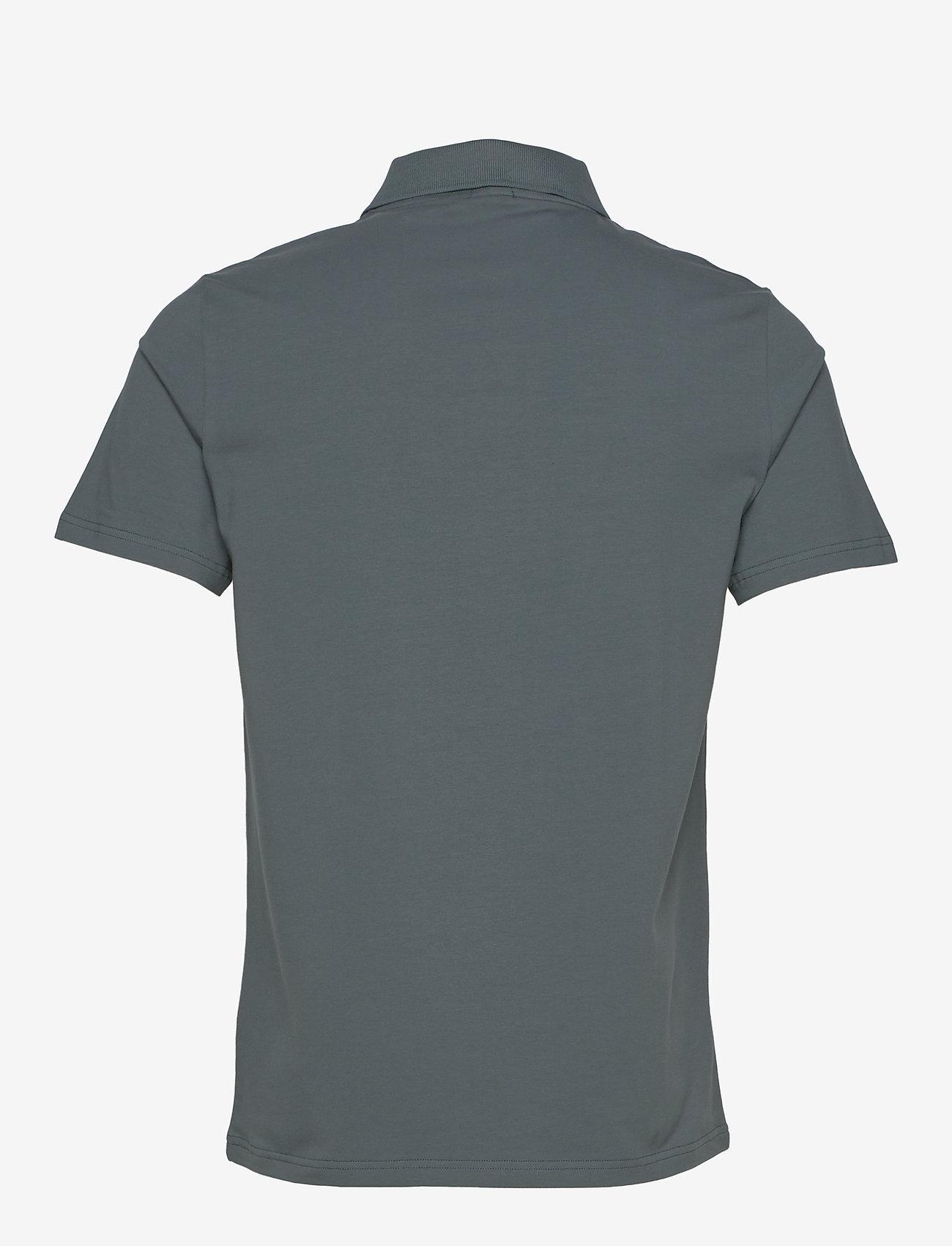 Filippa K - M. Lycra Polo T-Shirt - kortermede - charcoal b - 1
