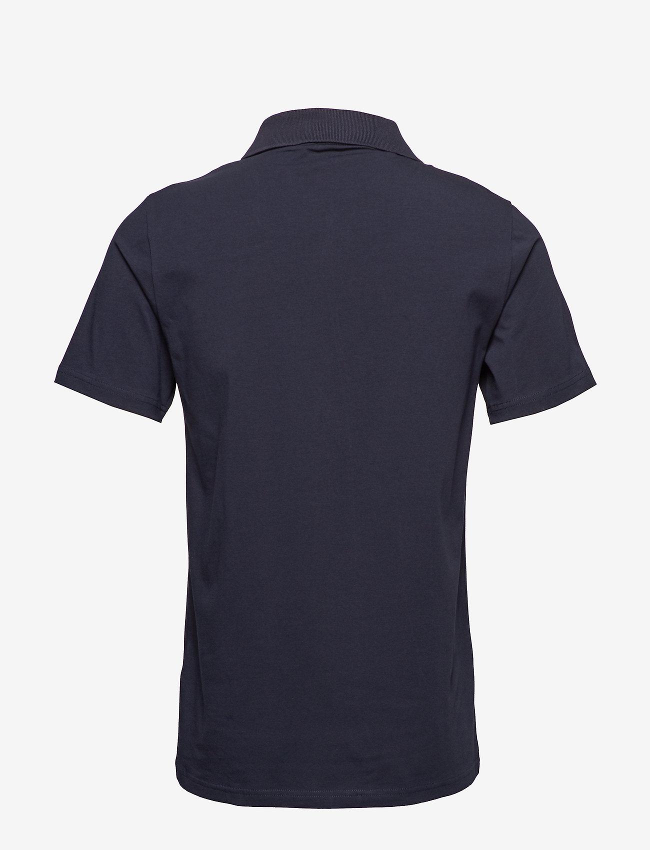 Filippa K - M. Lycra Polo T-Shirt - korte mouwen - navy - 1