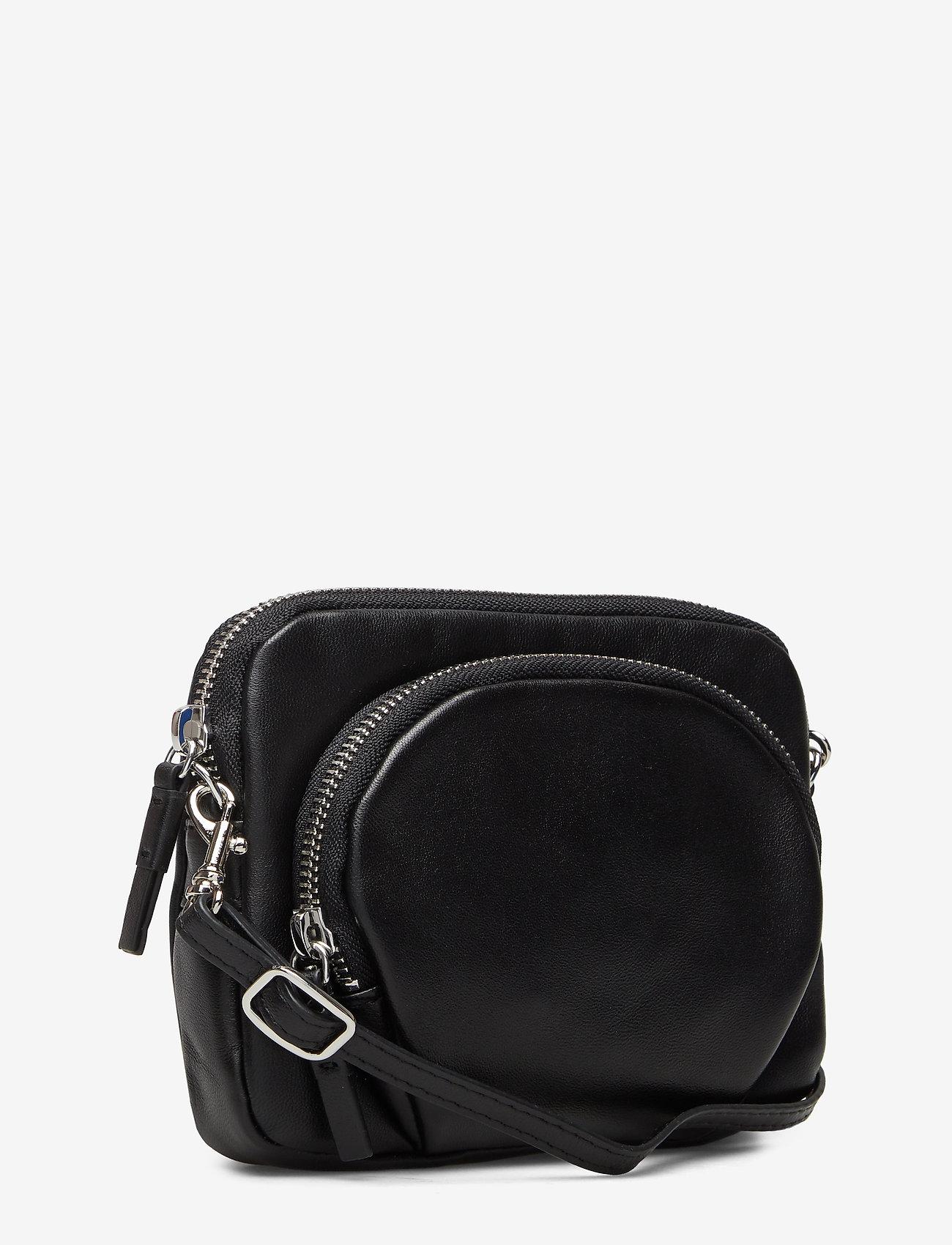 Filippa K Mini Leather Bag - Torby na ramię BLACK - Torby