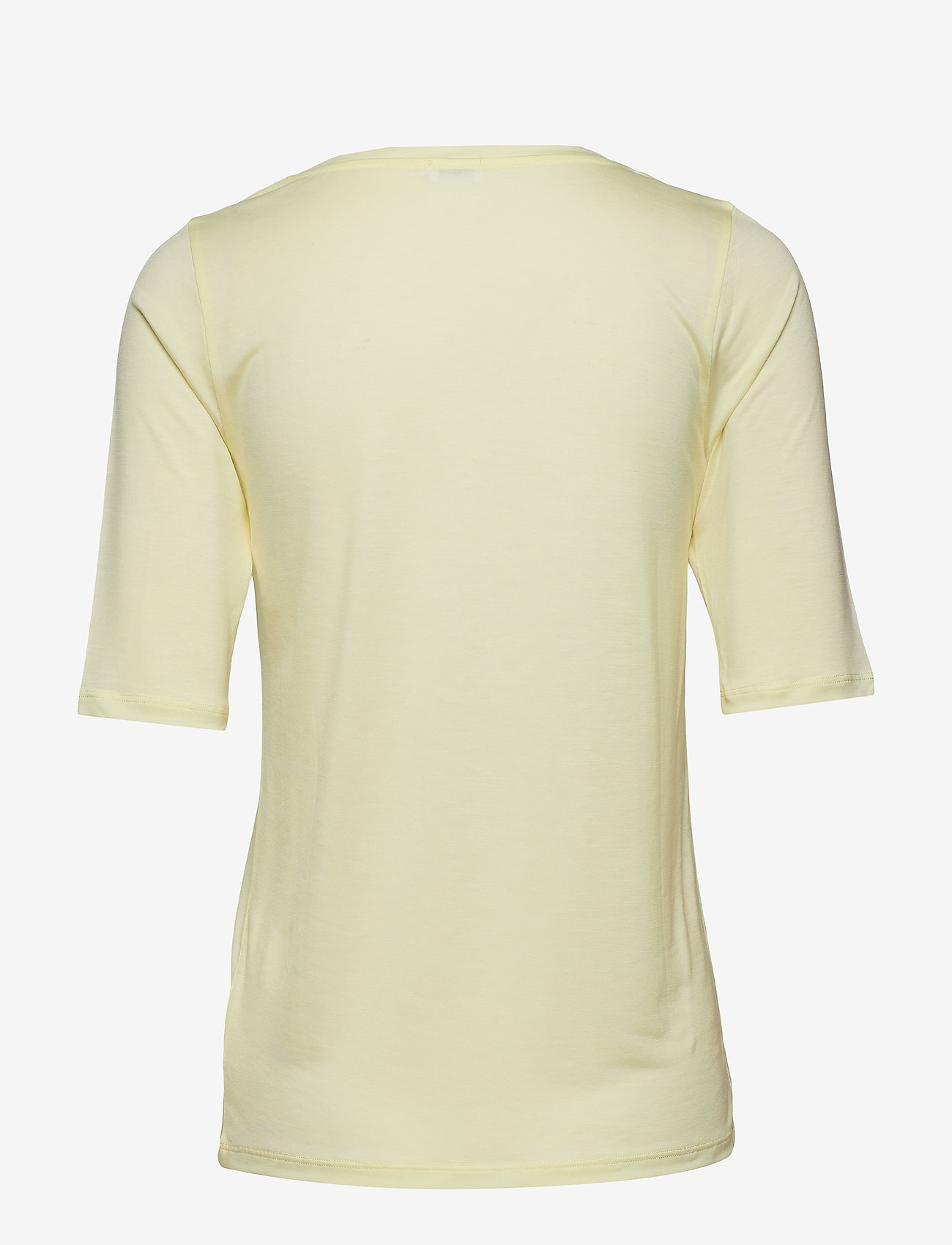 Filippa K - Tencel Scoop-neck Tee - t-shirts - pale lime - 1