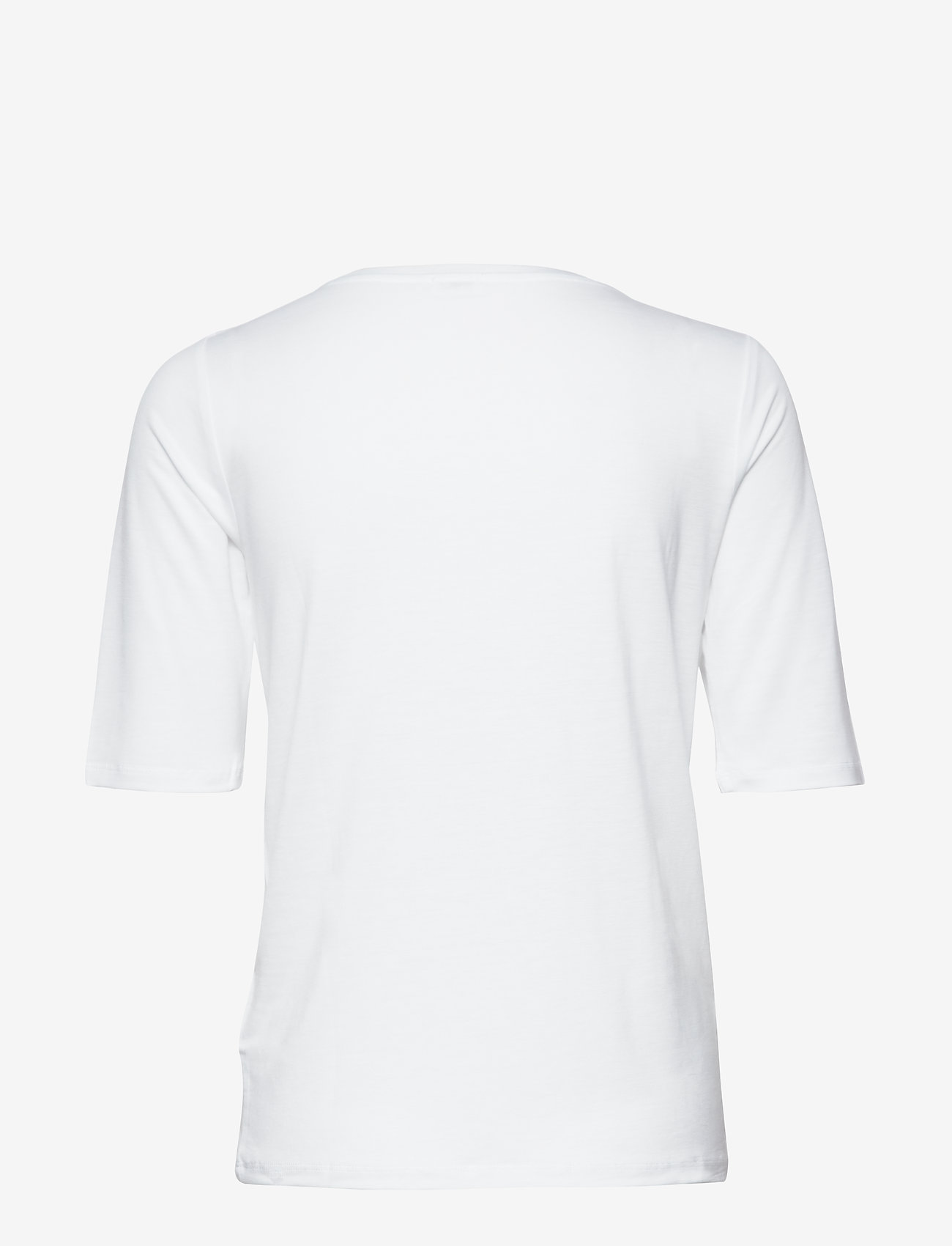 Filippa K - Tencel Scoop-neck Tee - basic t-shirts - white