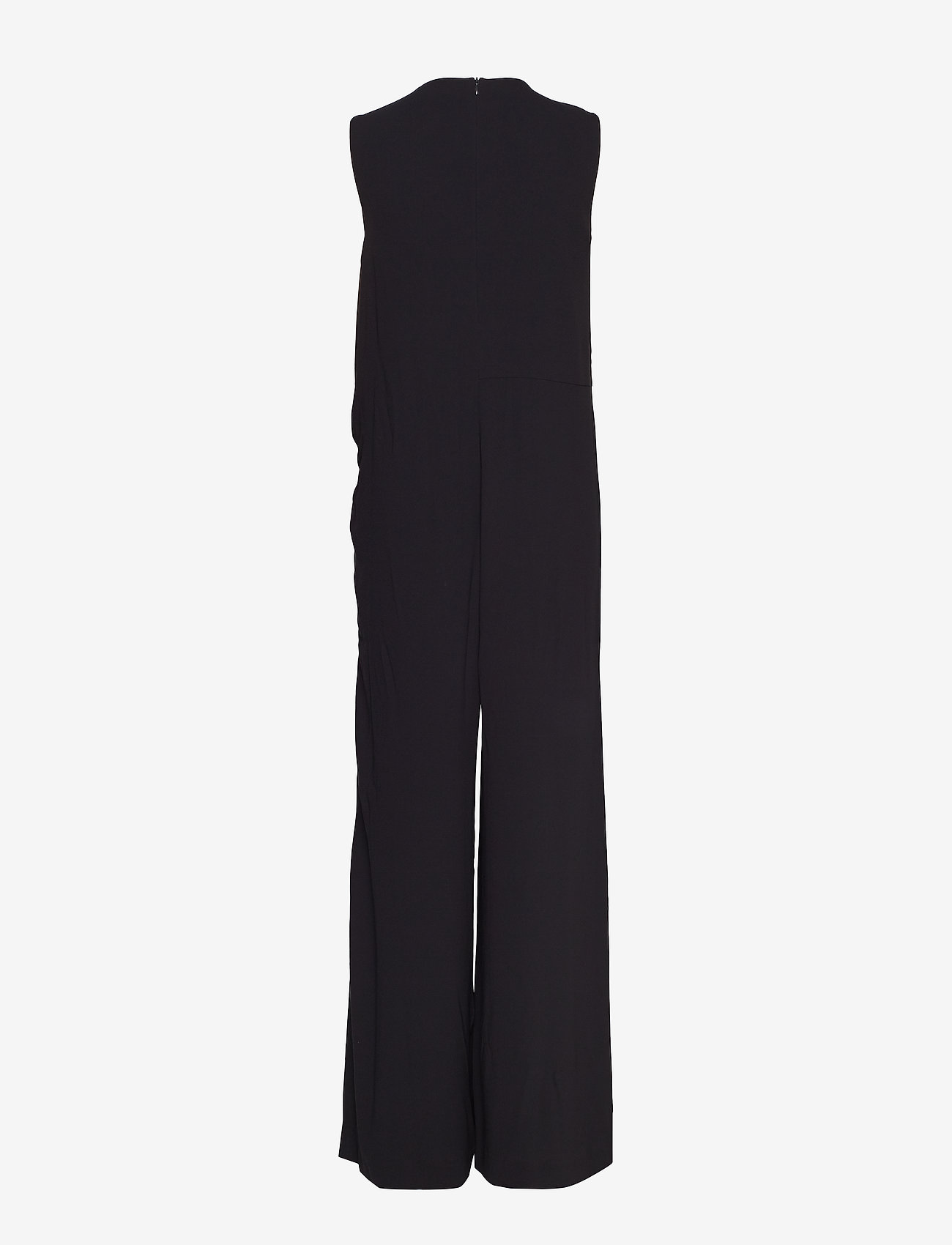 Filippa K - Tie Waist Jumpsuit - jumpsuits - black - 1