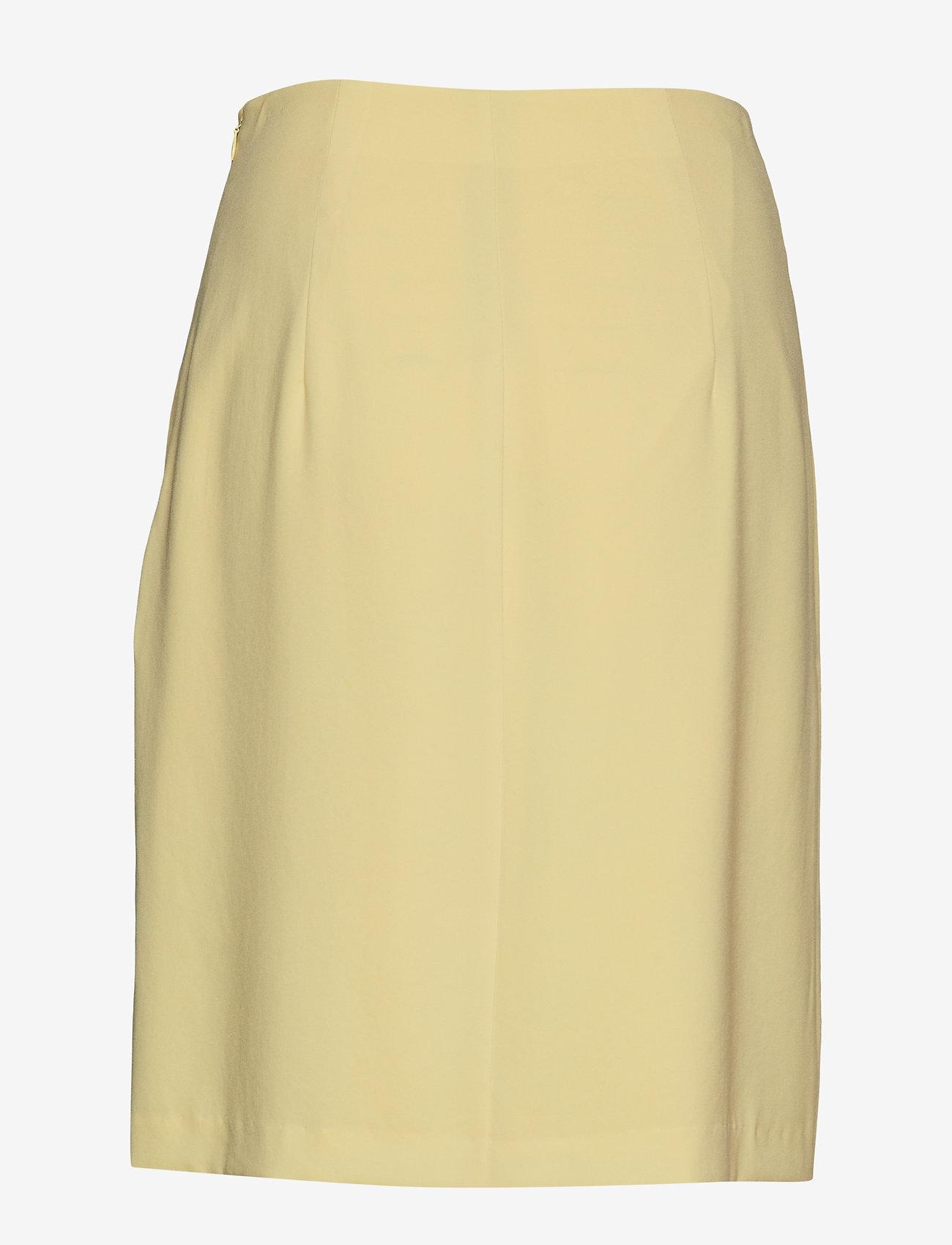 Filippa K - High Waist Crepe Skirt - pennkjolar - wax - 1