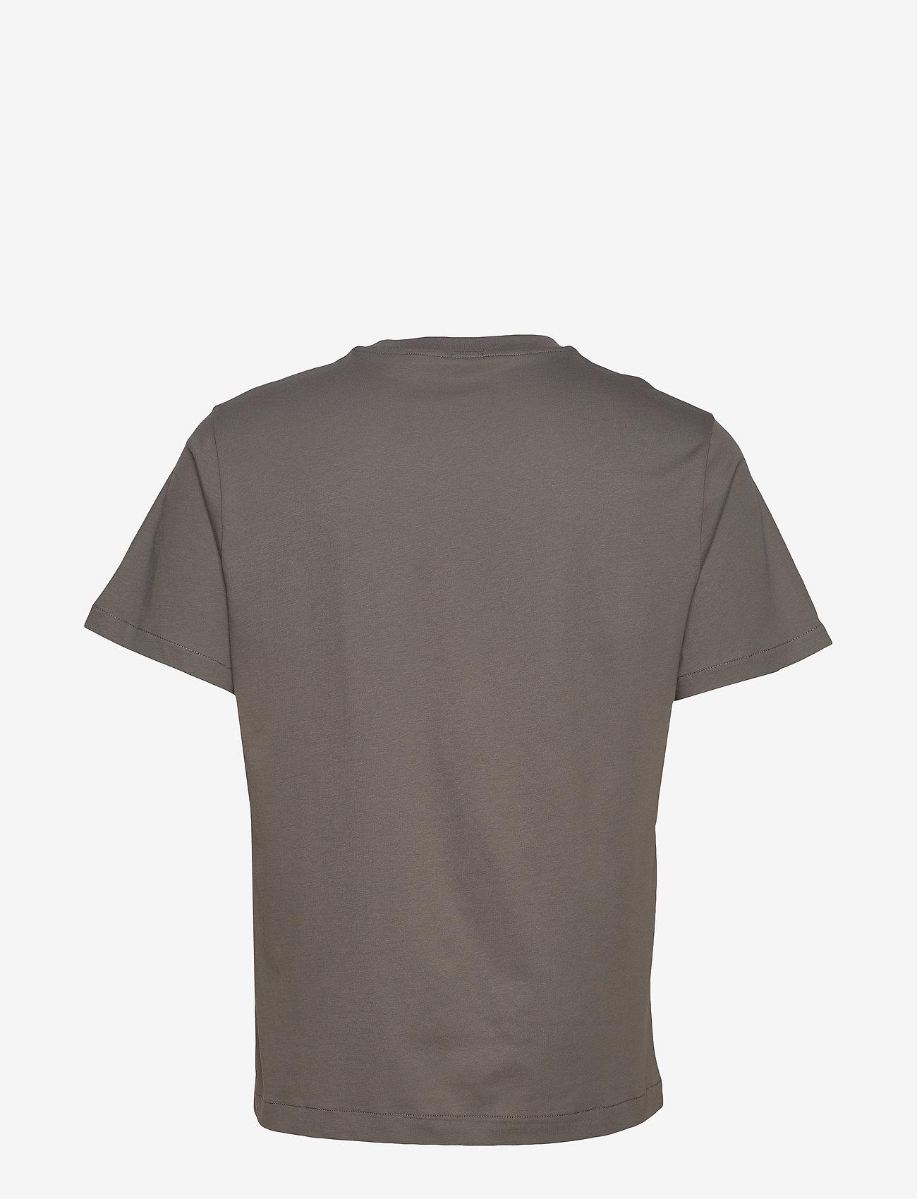 Filippa K - M. Single Jersey Tee - t-shirts basiques - green grey - 1