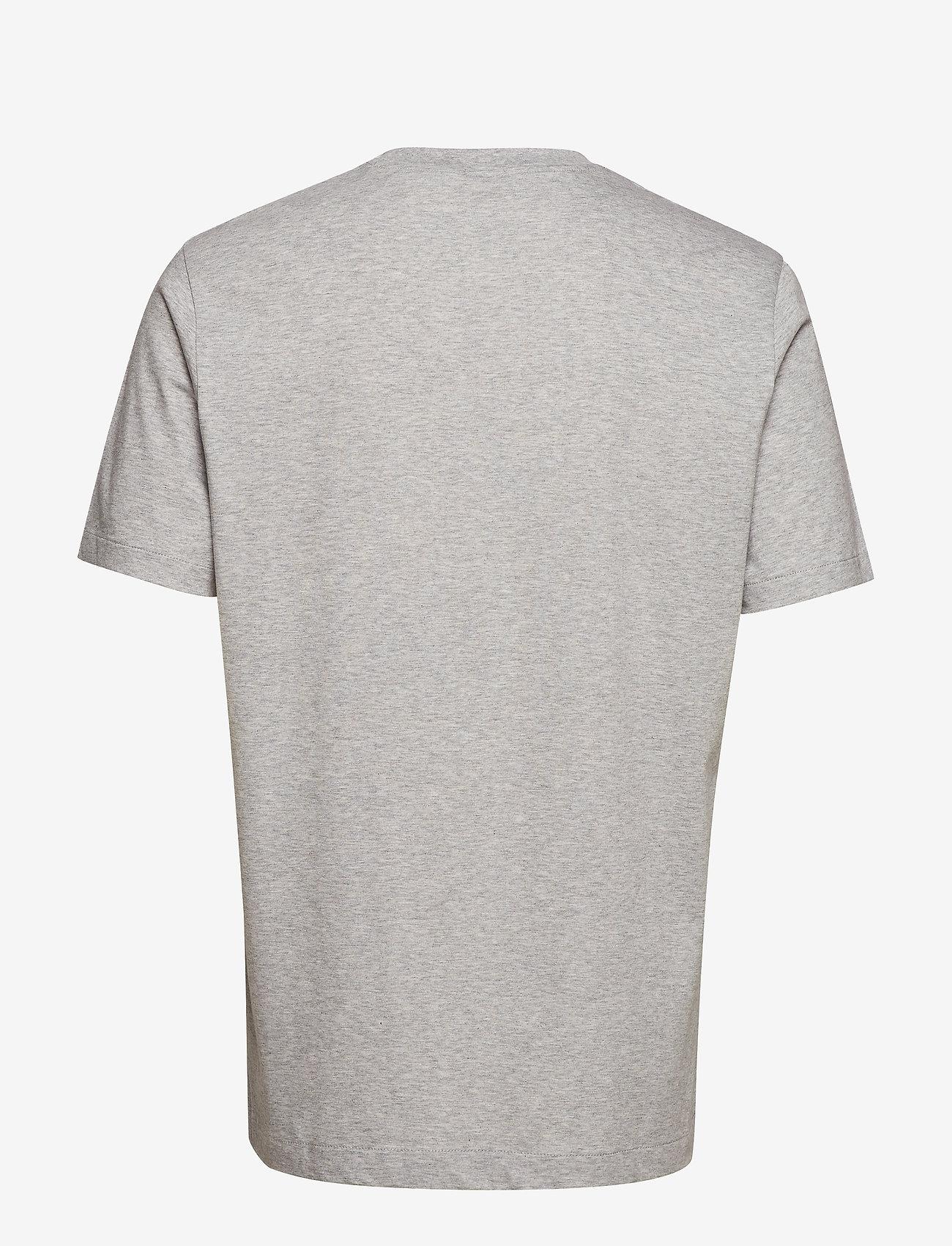Filippa K - M. Single Jersey Tee - basic t-shirts - light grey - 1