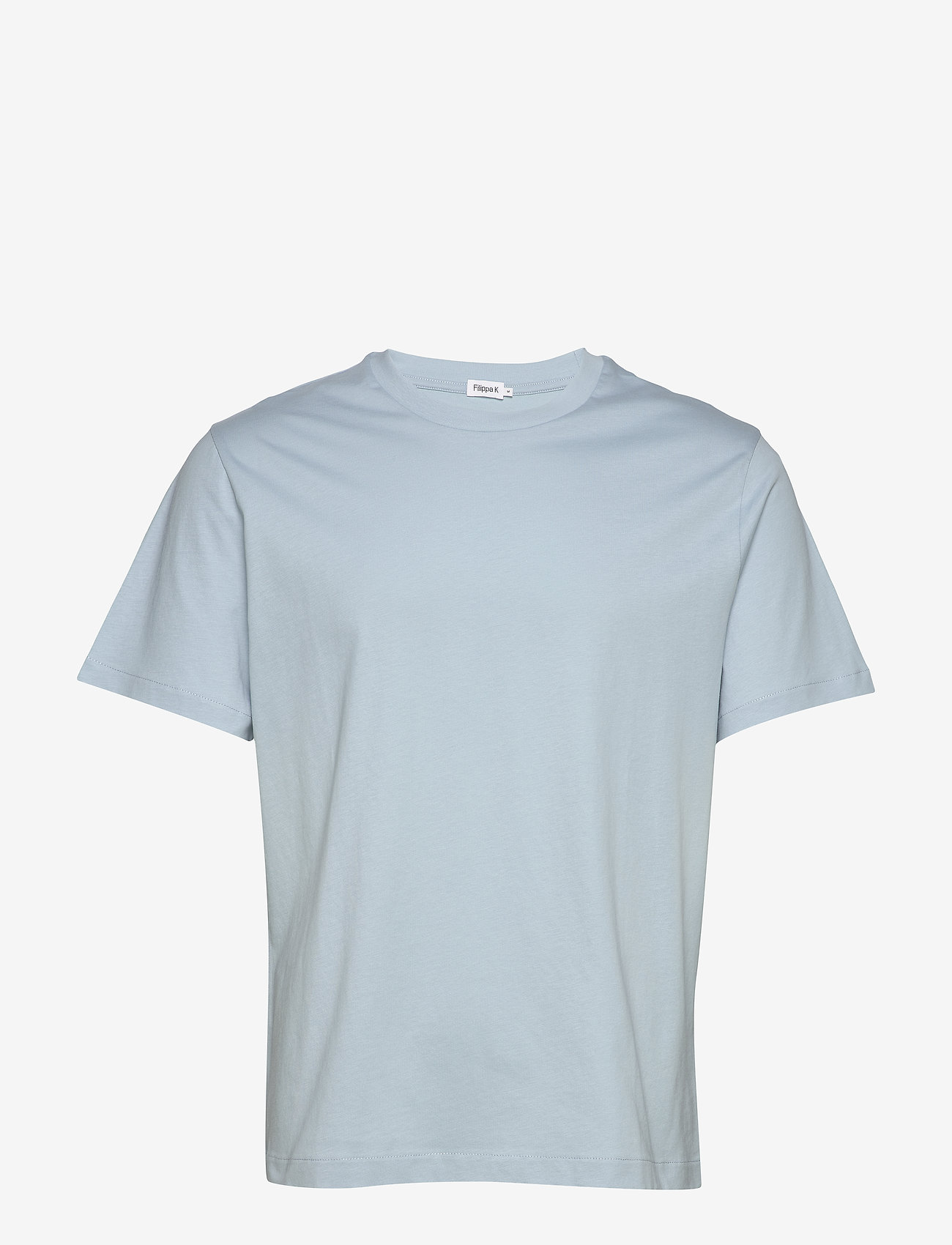 Filippa K - M. Single Jersey Tee - basis-t-skjorter - pale blue - 0