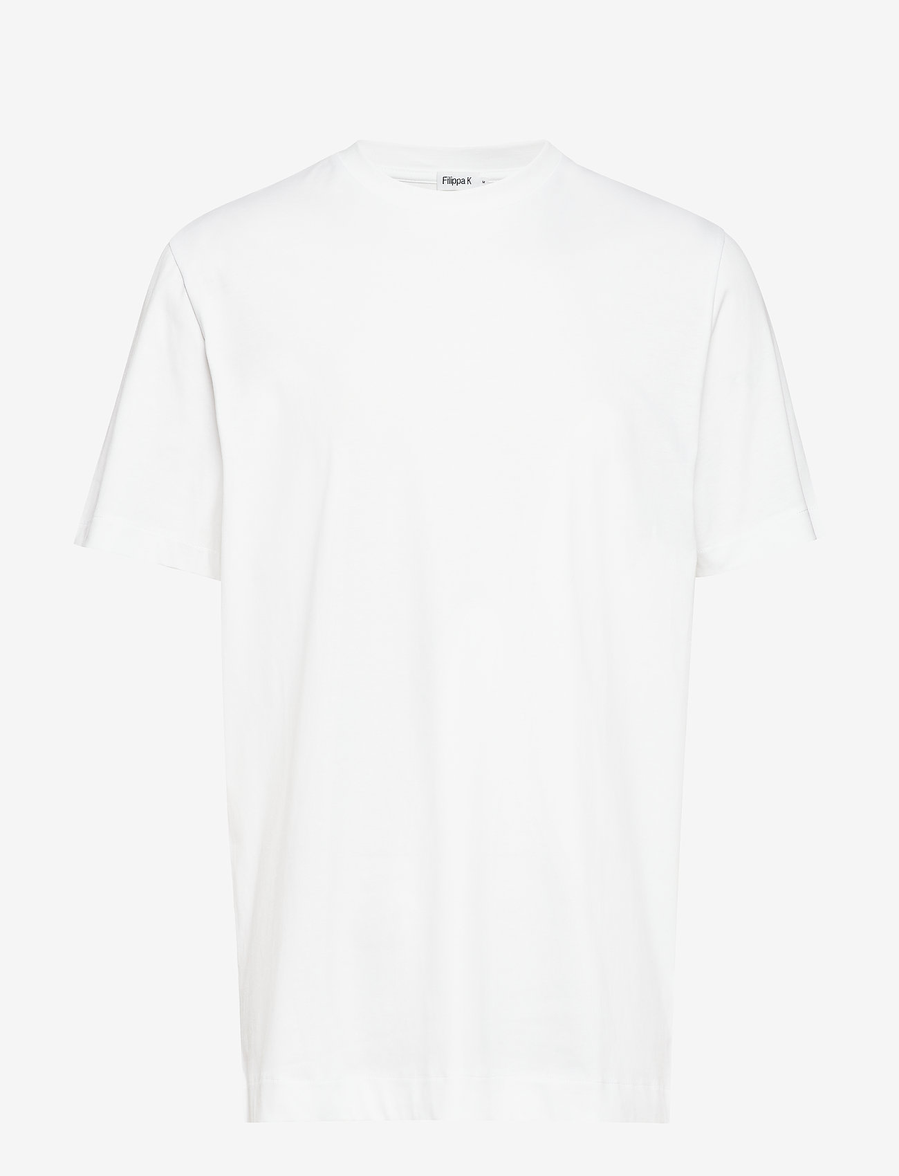 Filippa K - M. Single Jersey Tee - t-shirts - white - 0