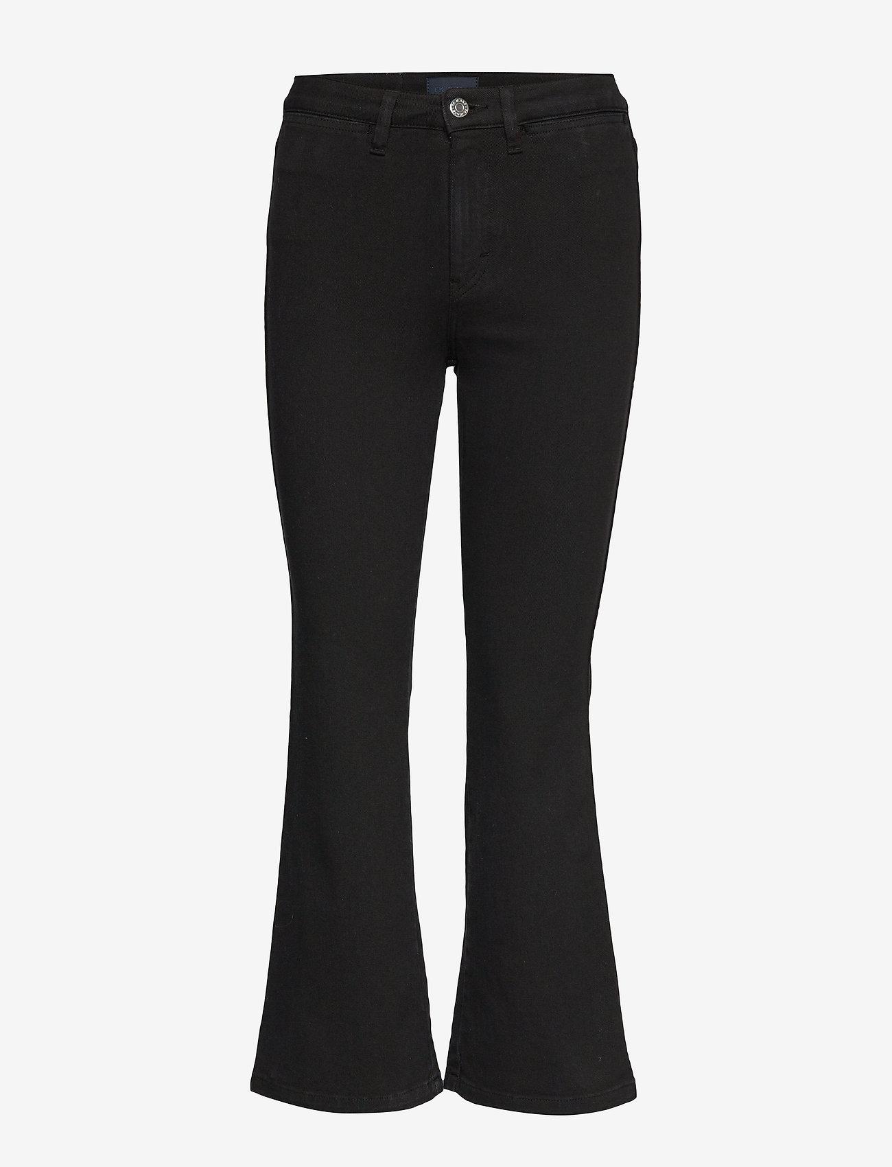 Filippa K - Hally Jean - bukser med brede ben - black - 0