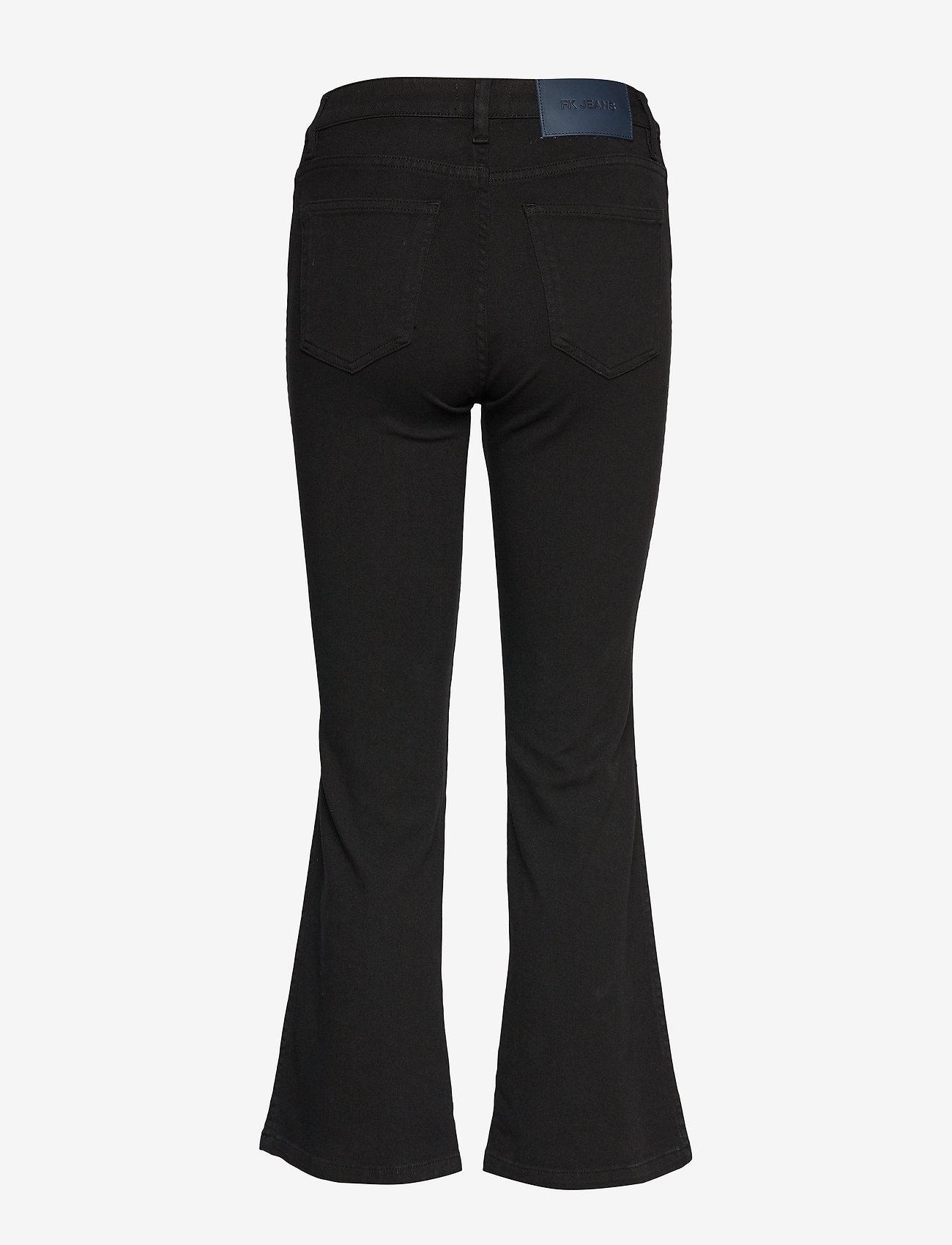 Filippa K - Hally Jean - bukser med brede ben - black - 1