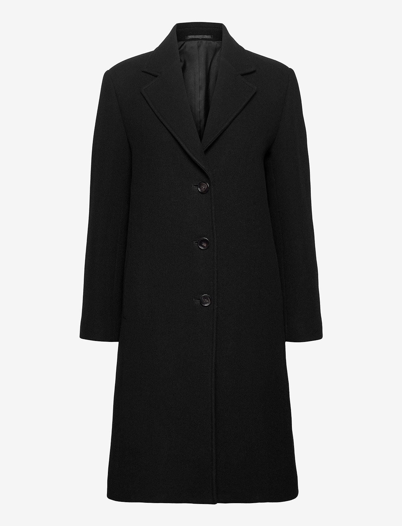 Filippa K - Barnsbury Coat - uldfrakker - black - 0