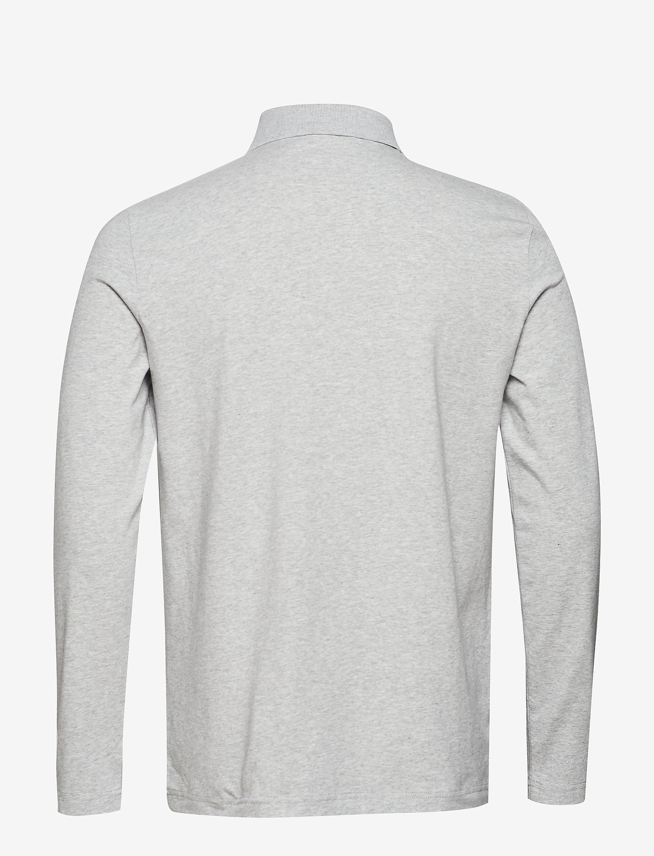 Filippa K - M. Luke Lycra Polo Shirt - lange mouwen - light grey - 1
