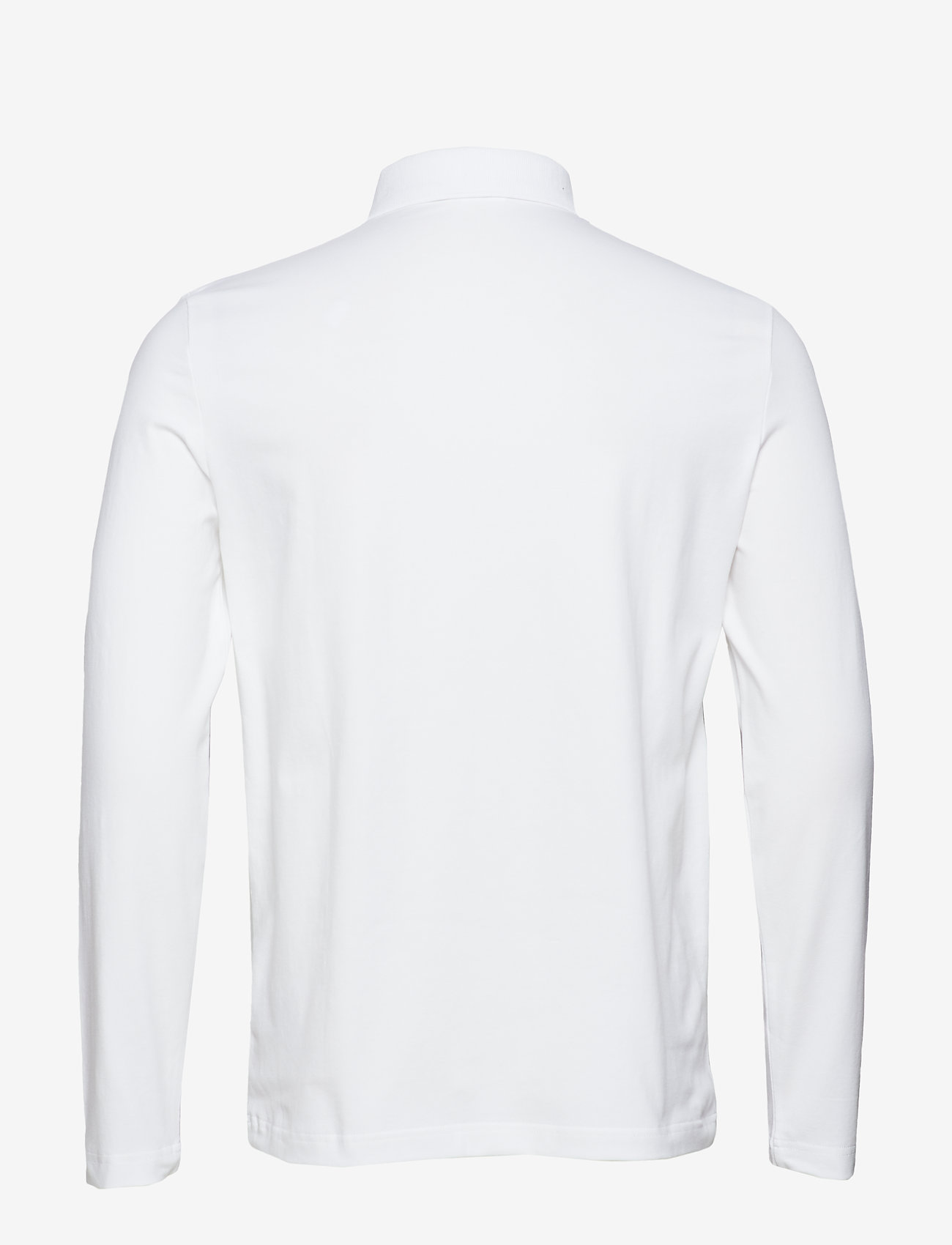 Filippa K - M. Luke Lycra Polo Shirt - lange mouwen - white - 1