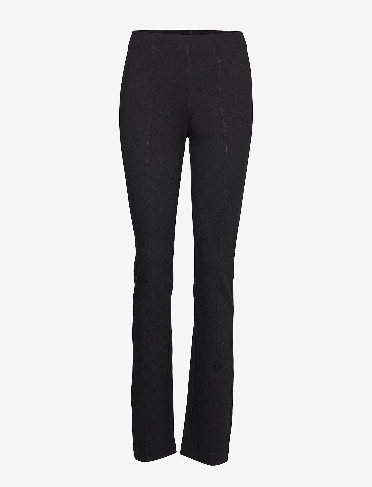Filippa K - Erin Slim Pant - slim fit bukser - black - 0