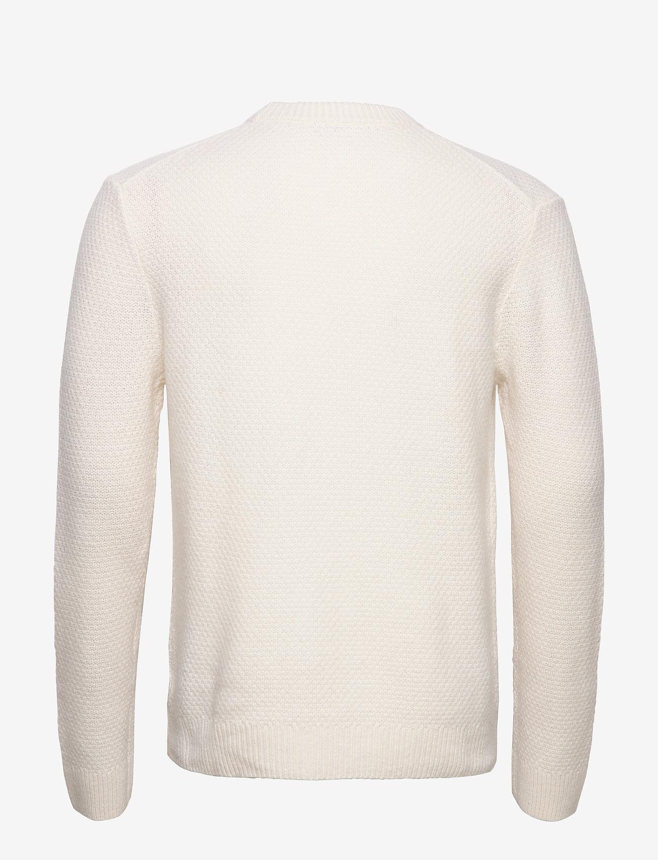 Filippa K - M. Tobias Sweater - basic strik - almond whi - 1