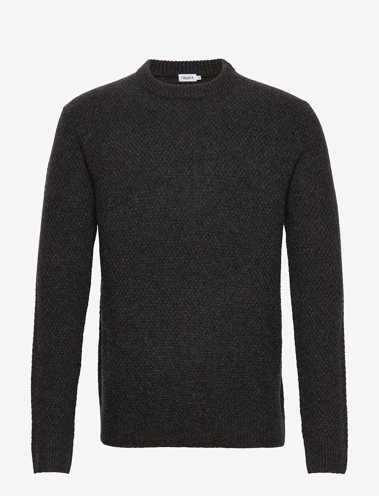 Filippa K - M. Tobias Sweater - tricots basiques - dark grey - 0
