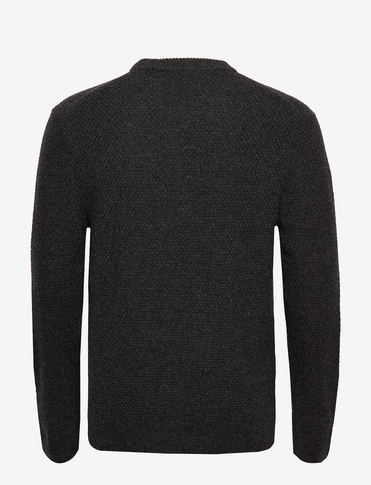 Filippa K - M. Tobias Sweater - basic strik - dark grey - 1