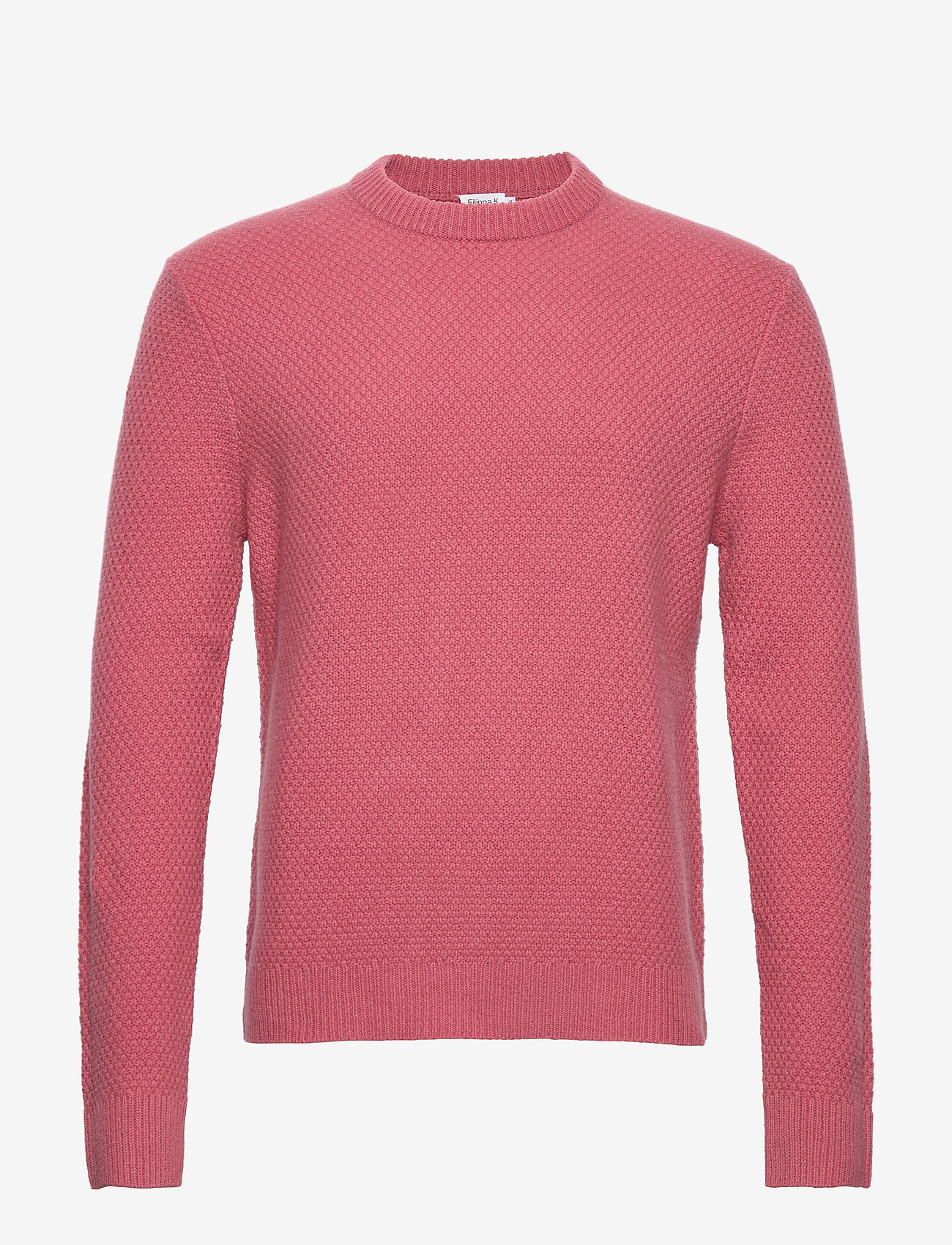 Filippa K - M. Tobias Sweater - basic strik - pink cedar - 0