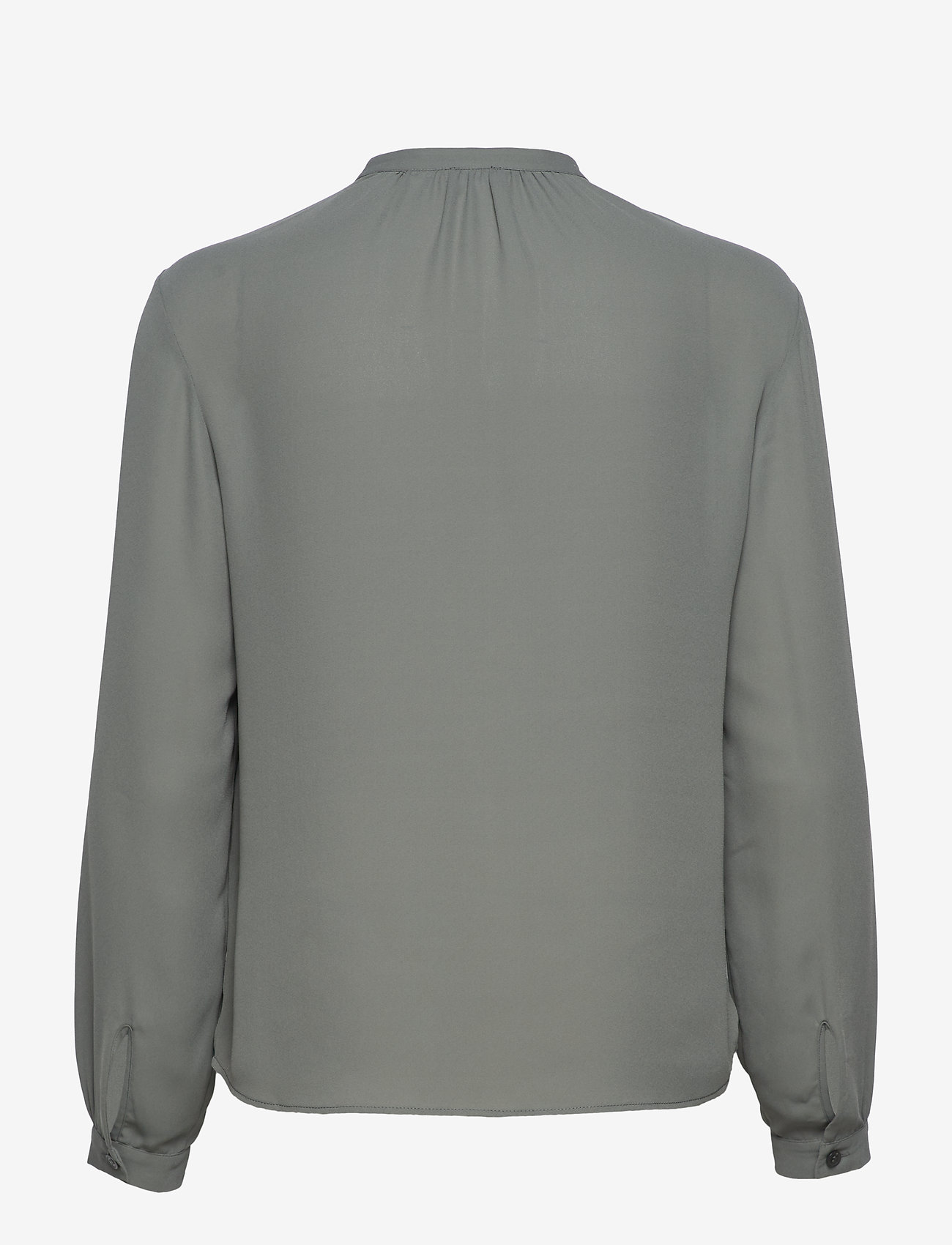 Filippa K - Adele Blouse - long sleeved blouses - mineral gr - 1