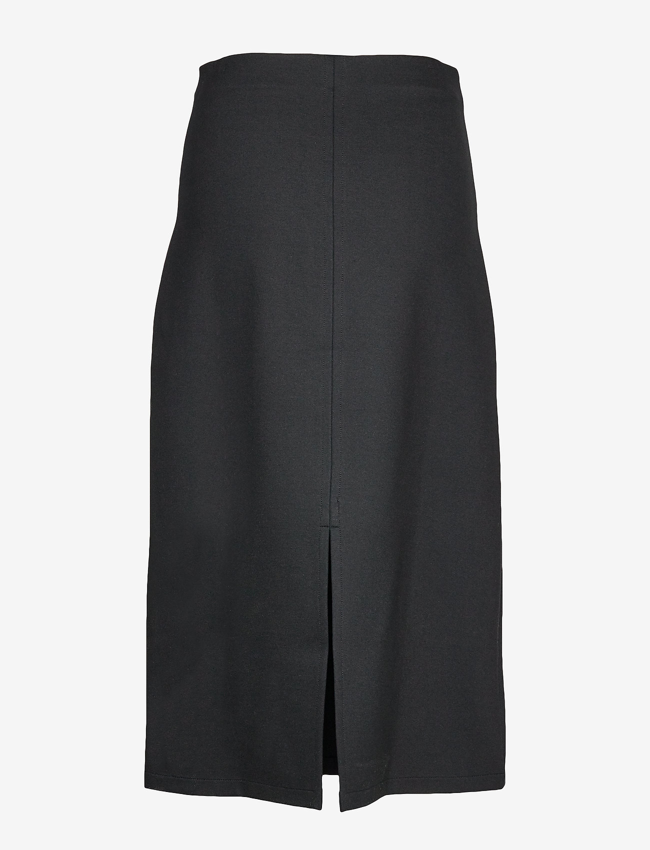 Filippa K - Eva Pull-on Skirt - midinederdele - black - 1