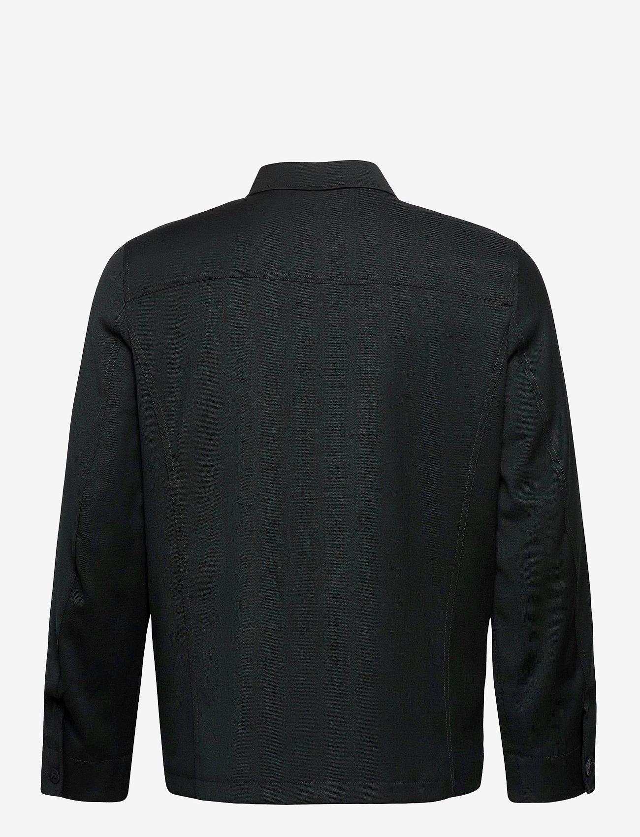 Filippa K - M. Louis Gabardine Jacket - overshirts - dark spruc - 1