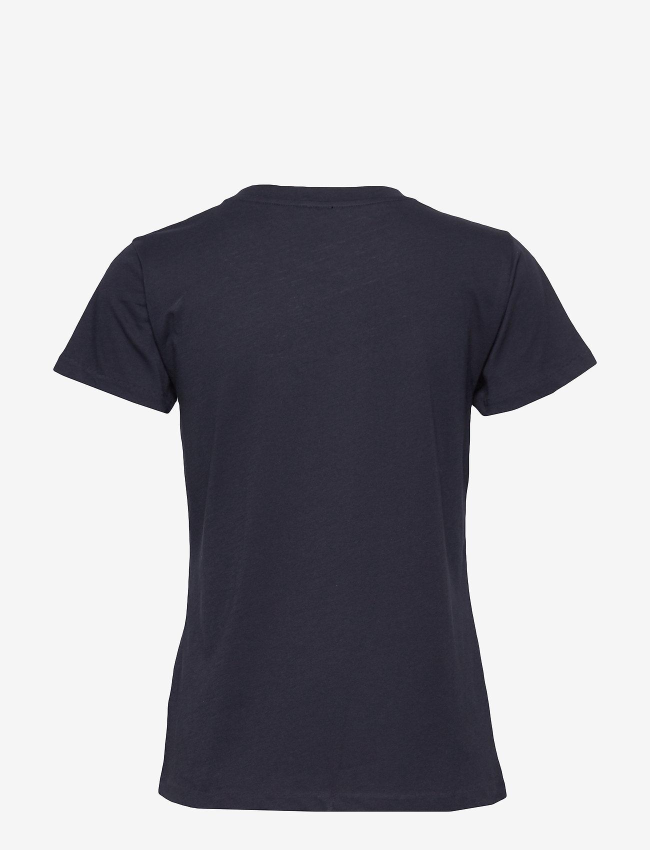 Filippa K - Cotton Tee - t-shirts - navy - 1