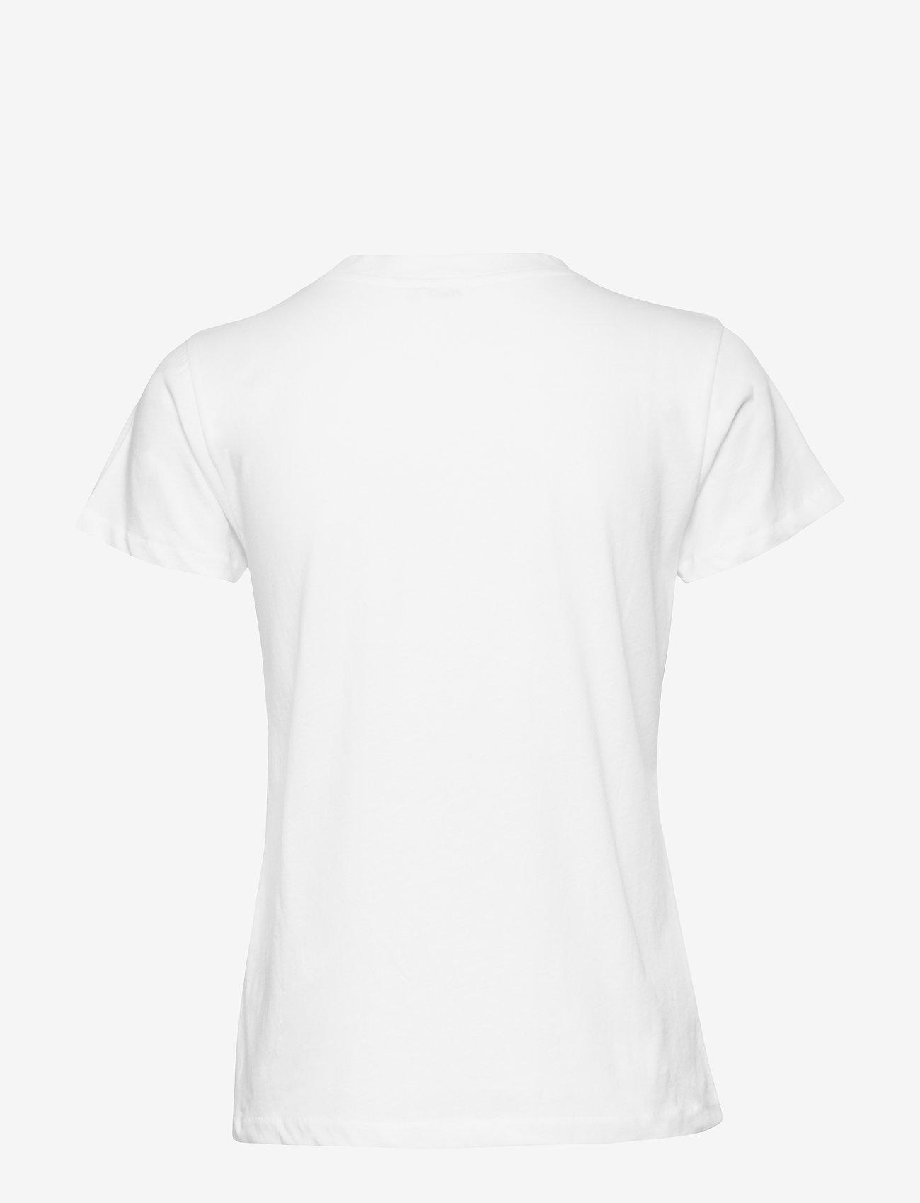 Filippa K - Cotton Tee - t-shirts - white - 1