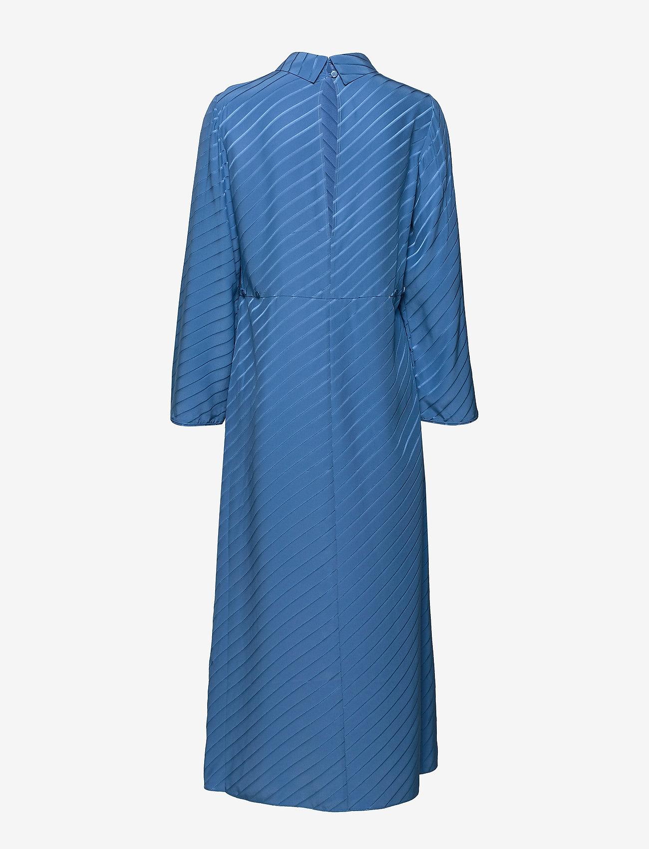 Filippa K - Vanessa Silk Dress - kveldskjoler - sapphire b - 1