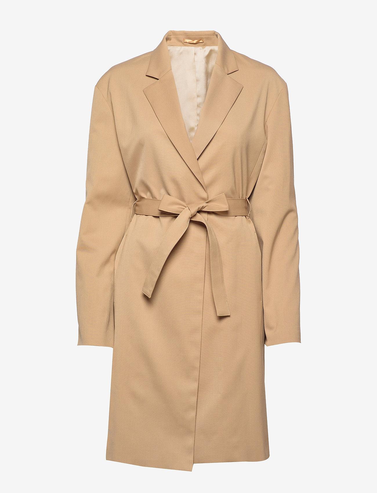 Filippa K - Amie Jacket - light coats - dark khaki - 0
