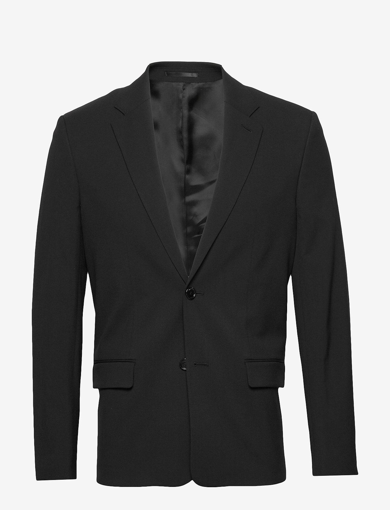 Filippa K - M. Harrison Blazer - blazers met enkele rij knopen - black - 0