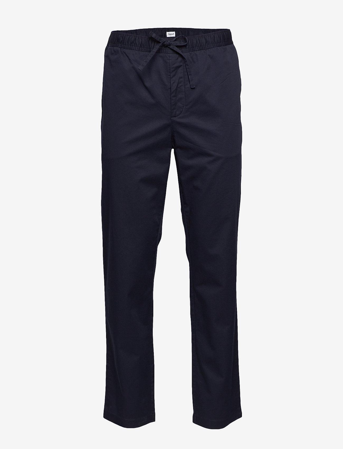 Filippa K - M. Theo Trouser - pantalons décontractés - navy - 0