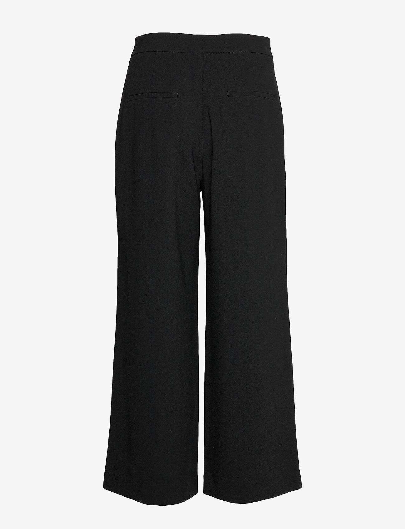 Filippa K - Naia Trouser - bukser med brede ben - black - 1