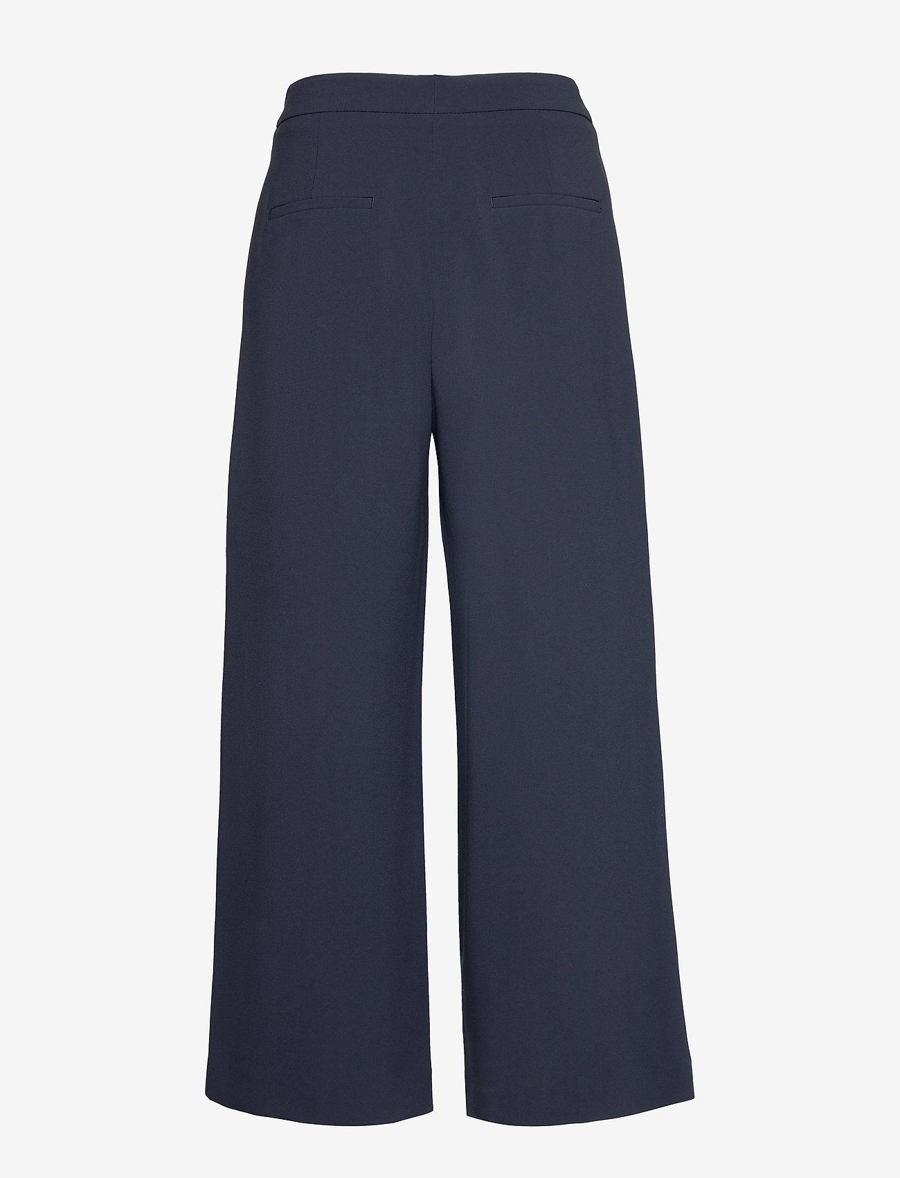 Filippa K - Naia Trouser - bukser med brede ben - navy - 1