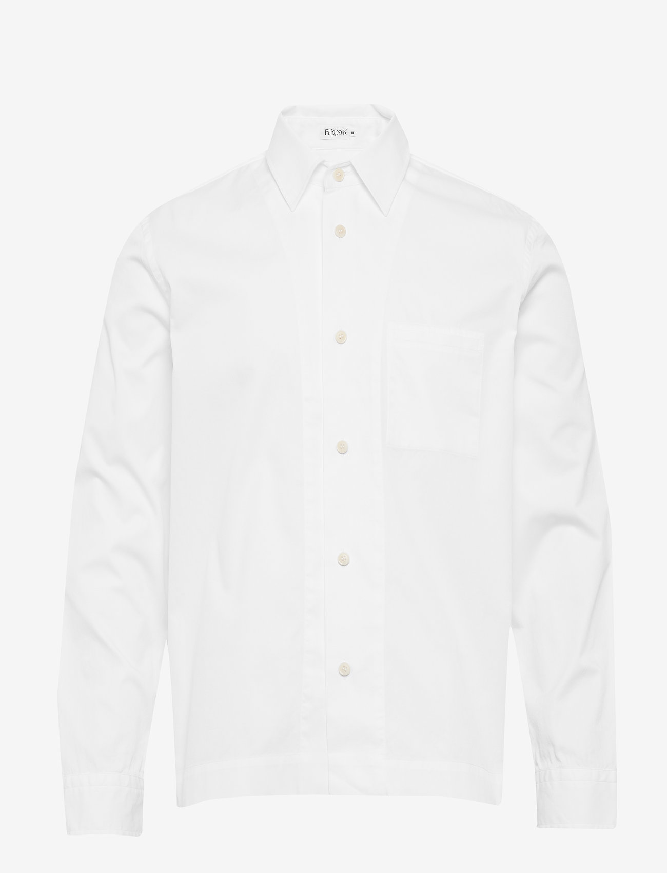 Filippa K - M. Zach Overshirt - basic skjorter - white - 0