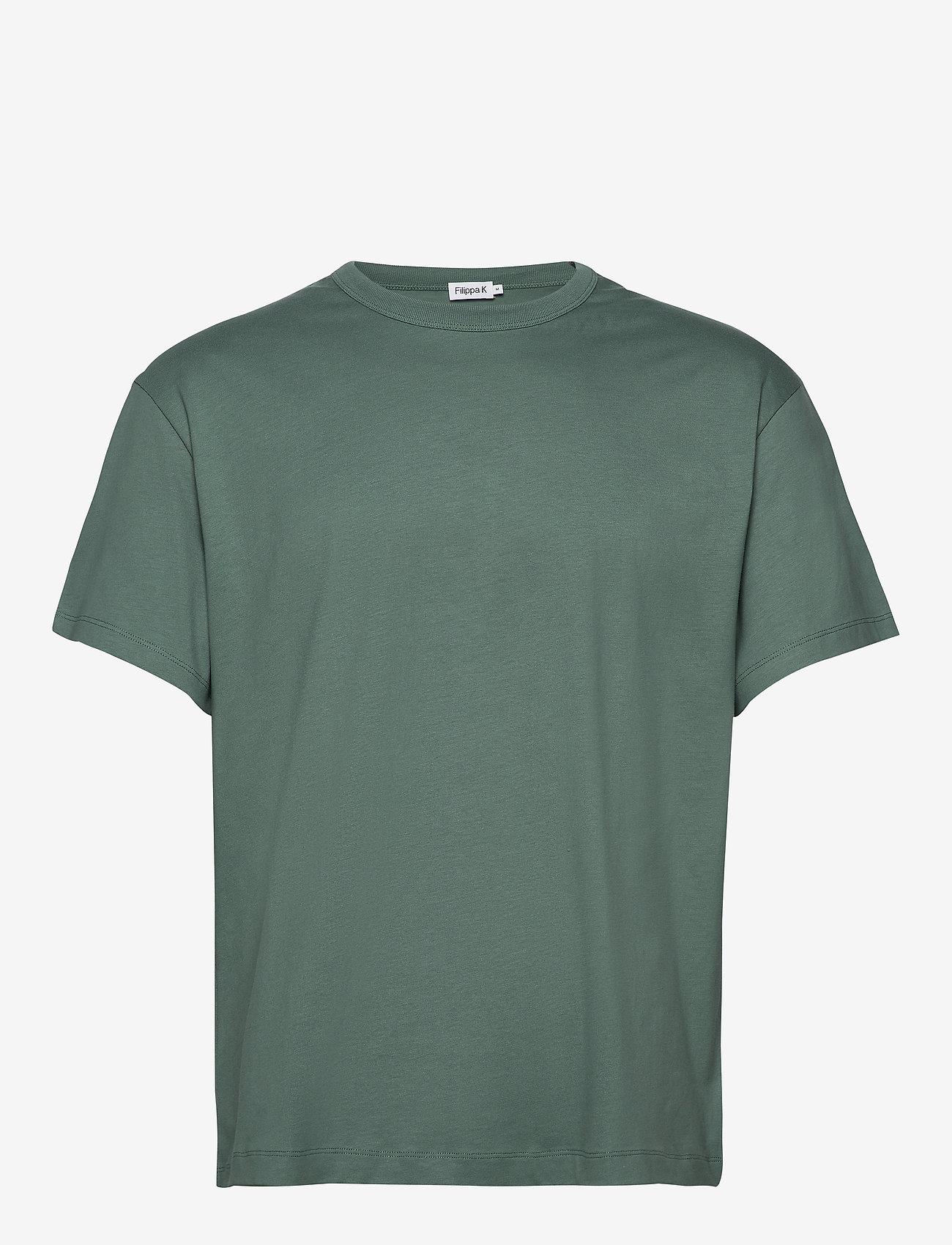Filippa K - M. Lukas Tee - basic t-shirts - mint powde - 0