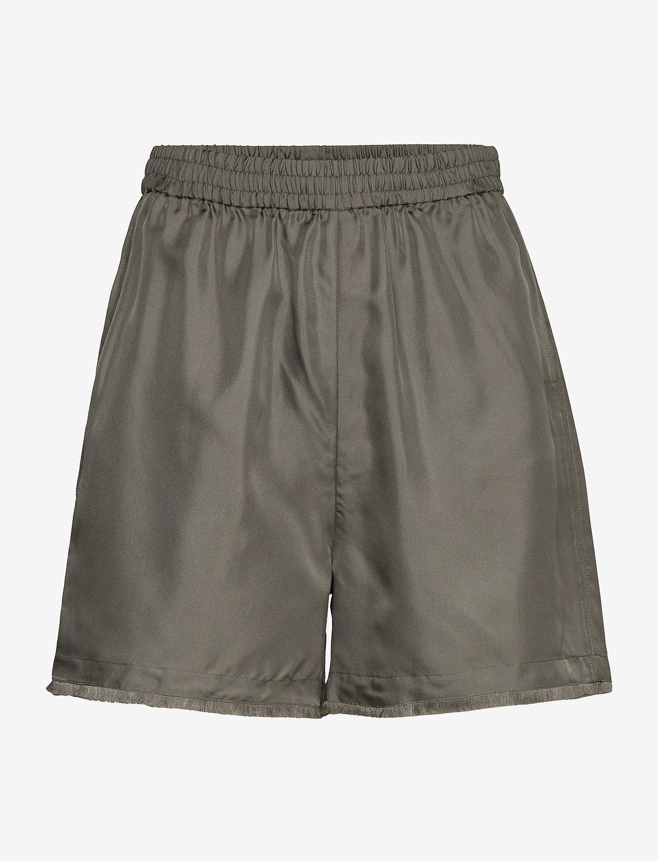 Filippa K - Madelyn Short - shorts casual - green grey - 0