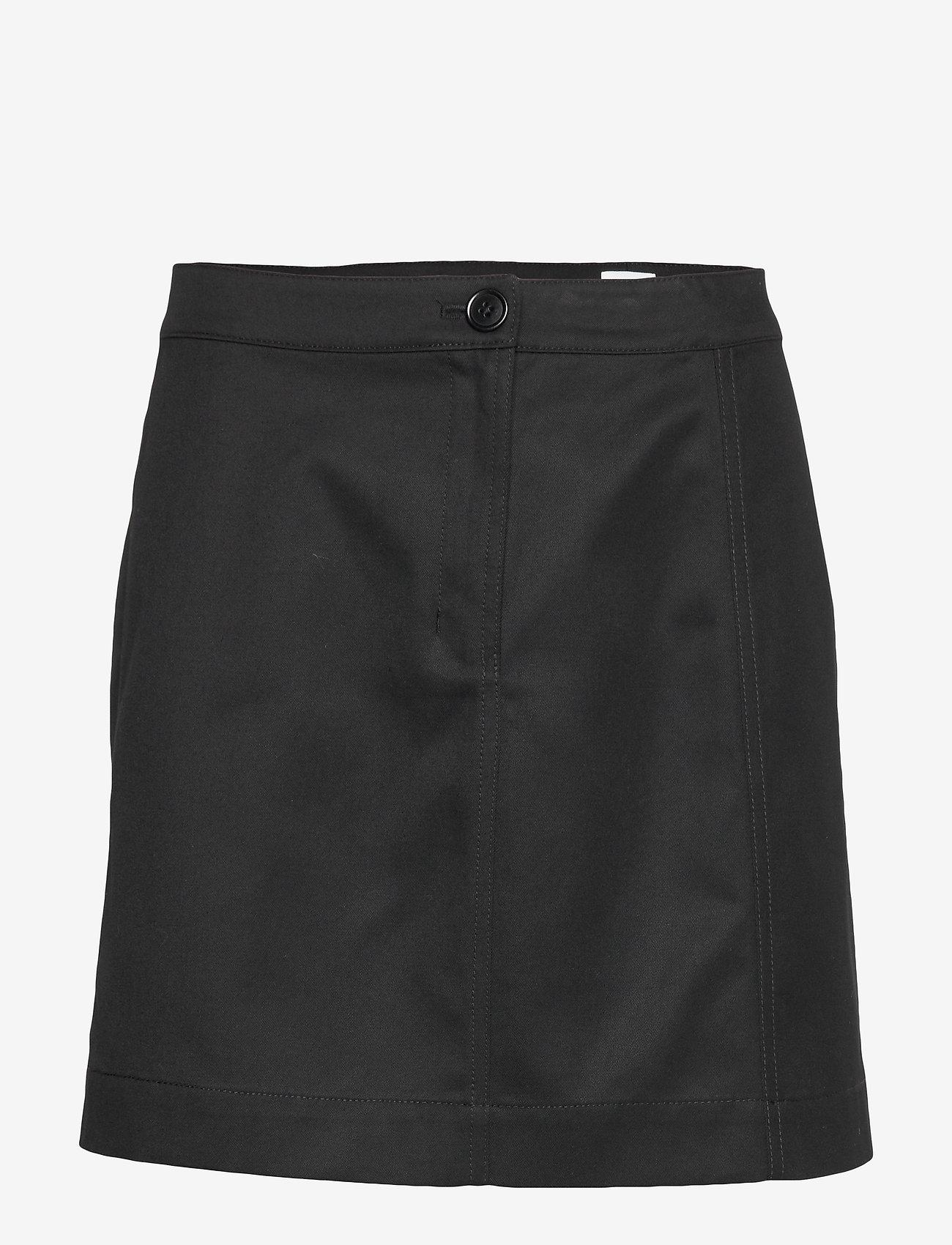 Filippa K - Cali Skirt - korte nederdele - black - 0