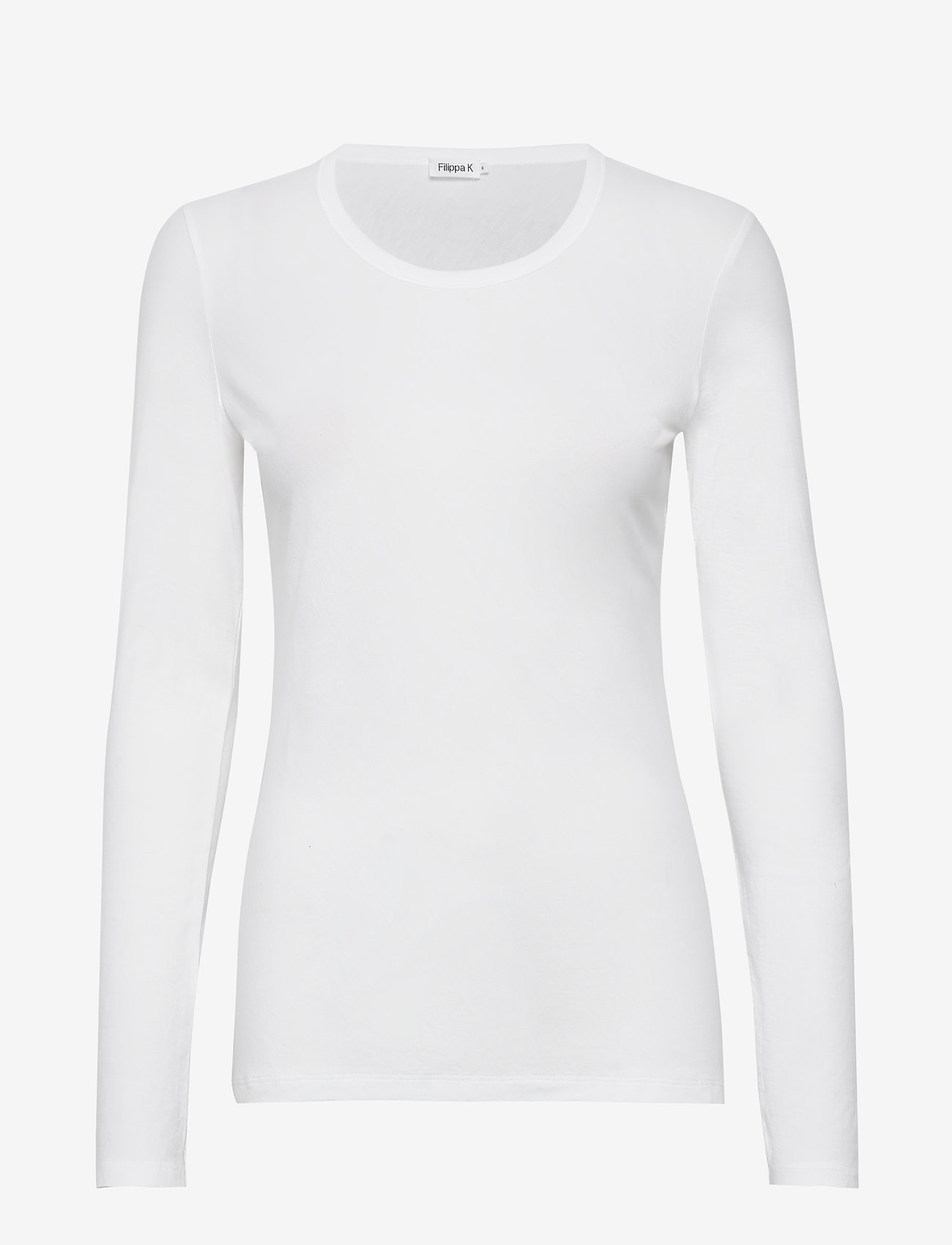Filippa K - Hannah Top - basic t-shirts - white - 0