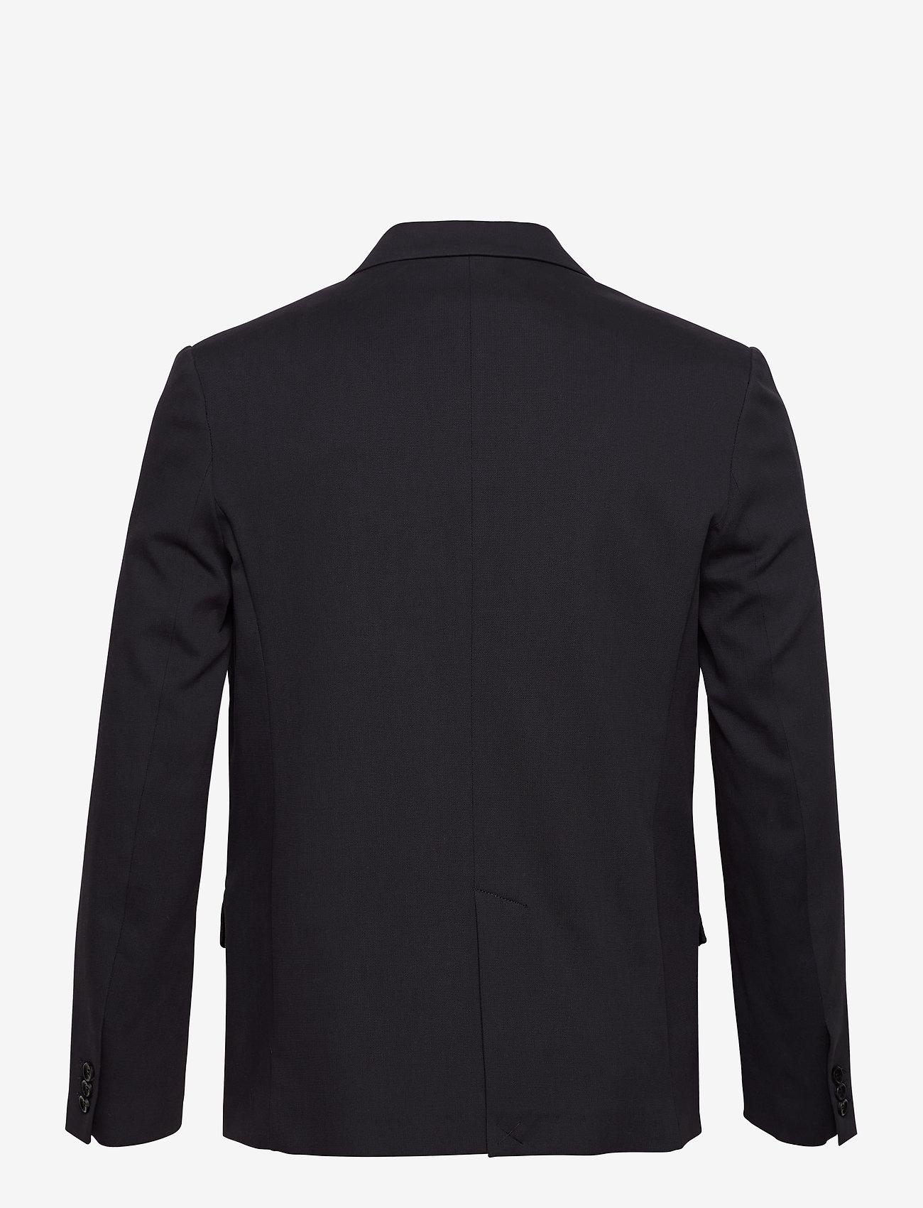 Filippa K - M. Harrison Cotton Blazer - enkeltradede blazere - navy - 1