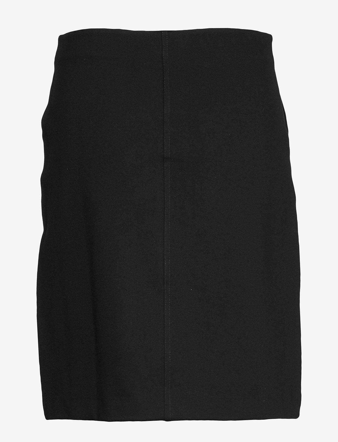 Filippa K - Delia Skirt - korte nederdele - black - 1