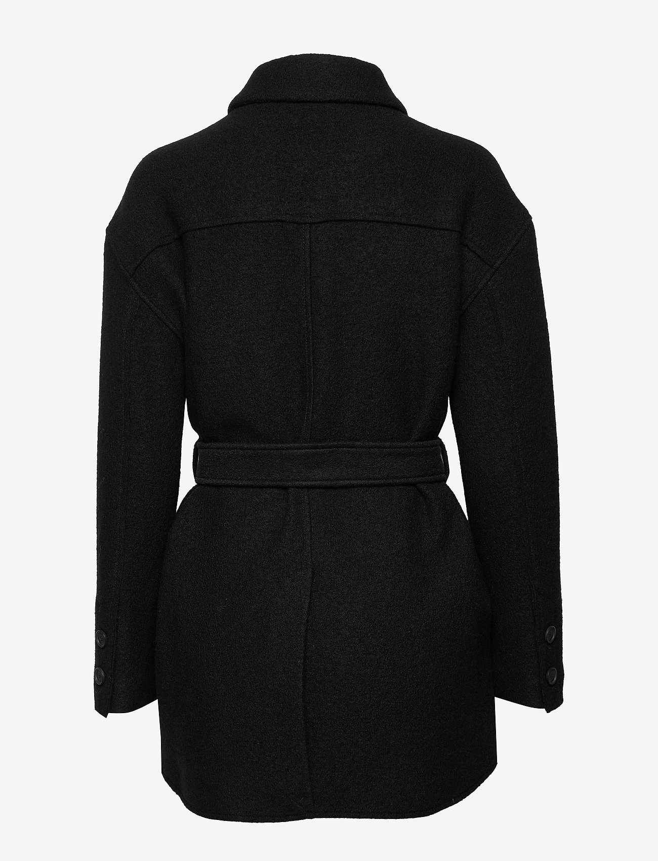 Filippa K - Lima Coat - ullkåper - black